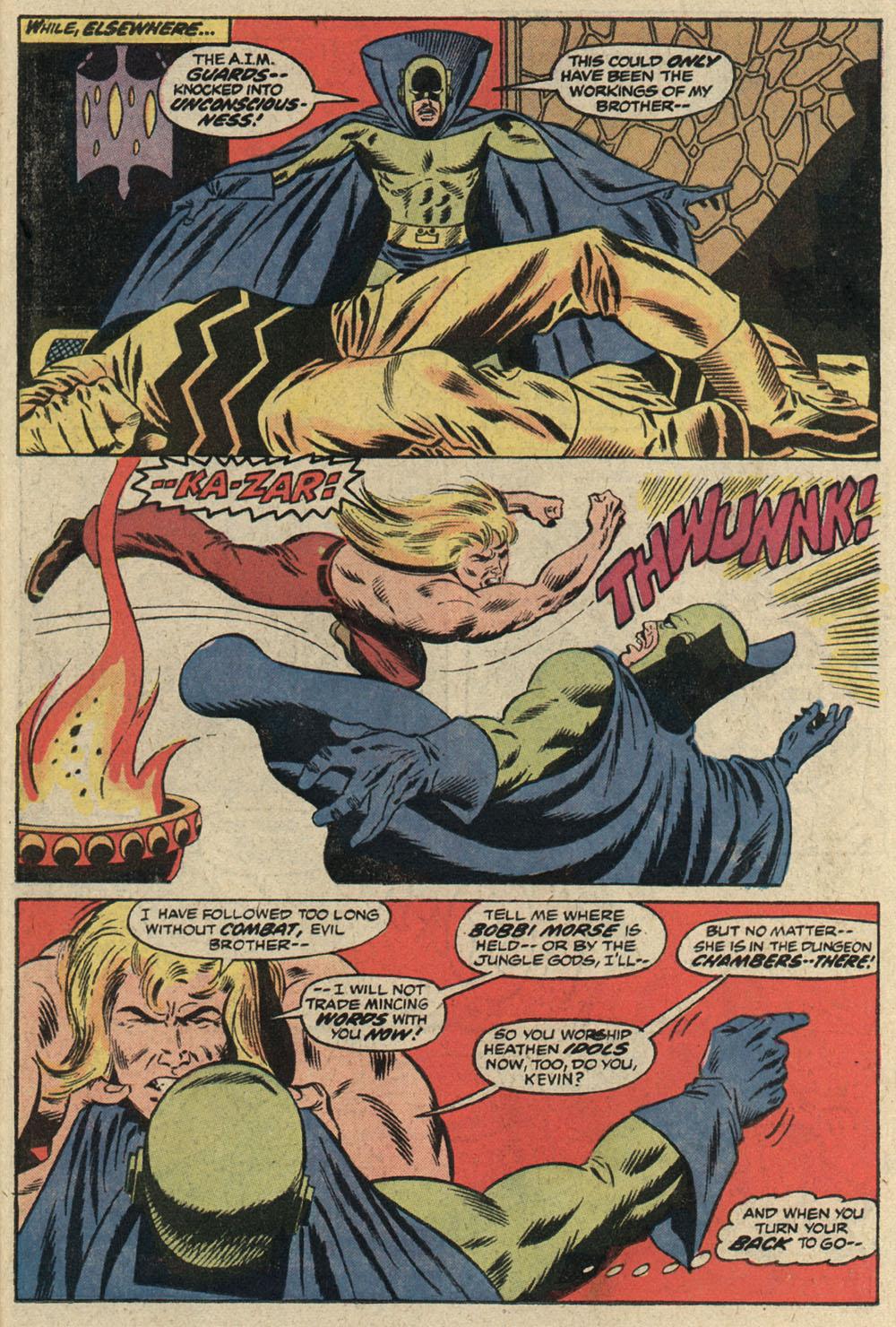 Read online Astonishing Tales (1970) comic -  Issue #19 - 16