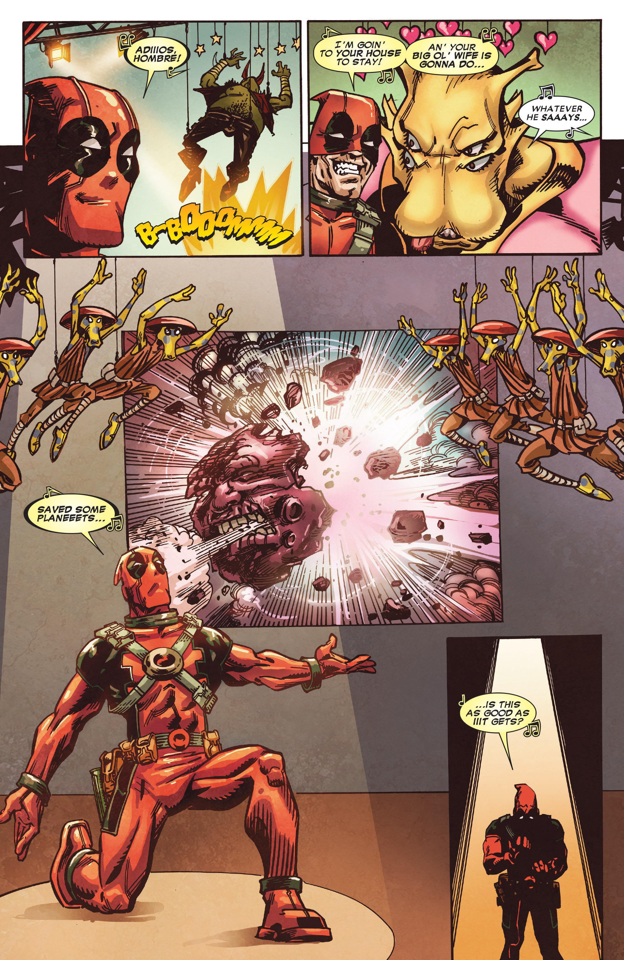 Read online True Believers: Deadpool the Musical comic -  Issue # Full - 20