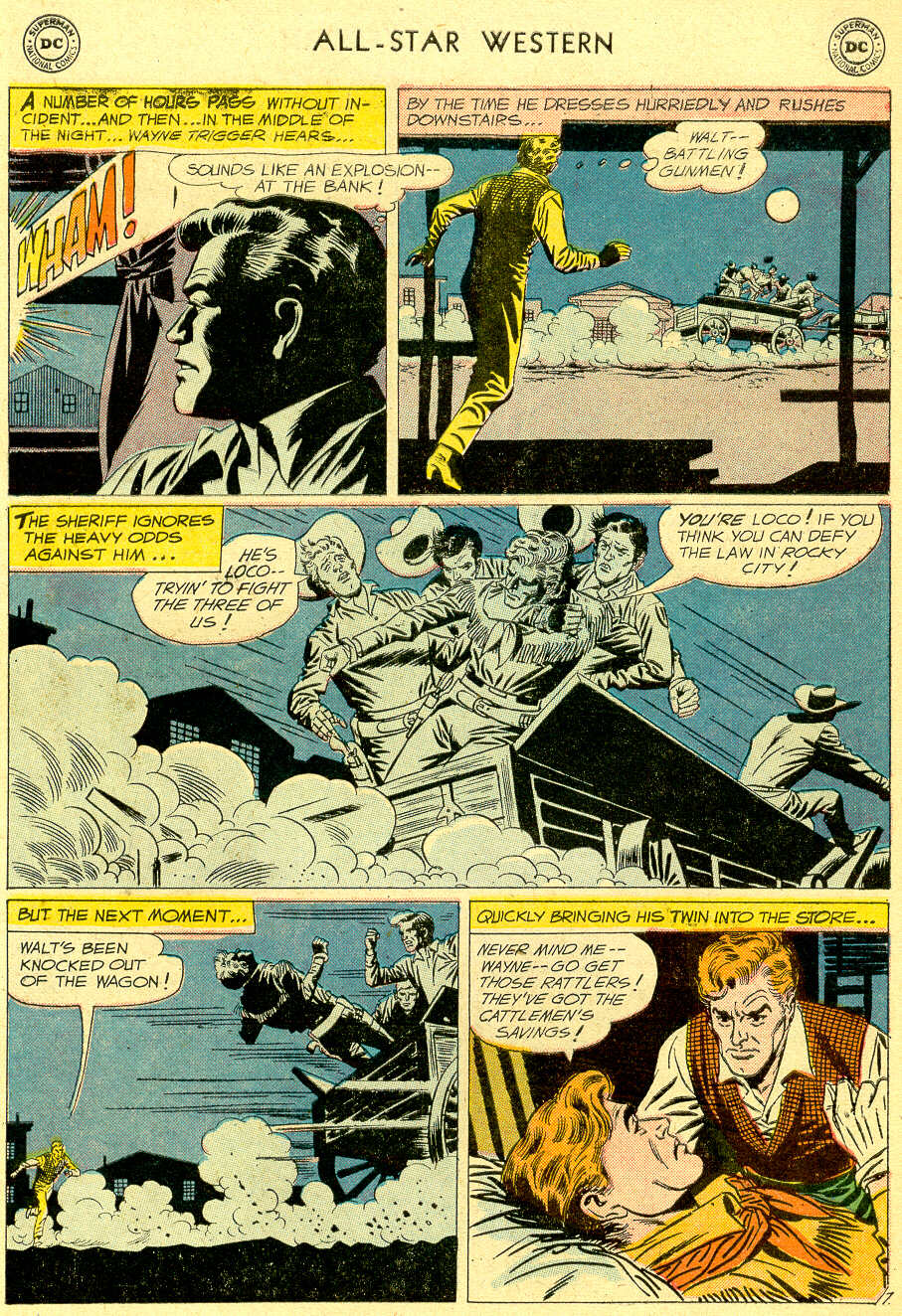 Read online All-Star Western (1951) comic -  Issue #103 - 9