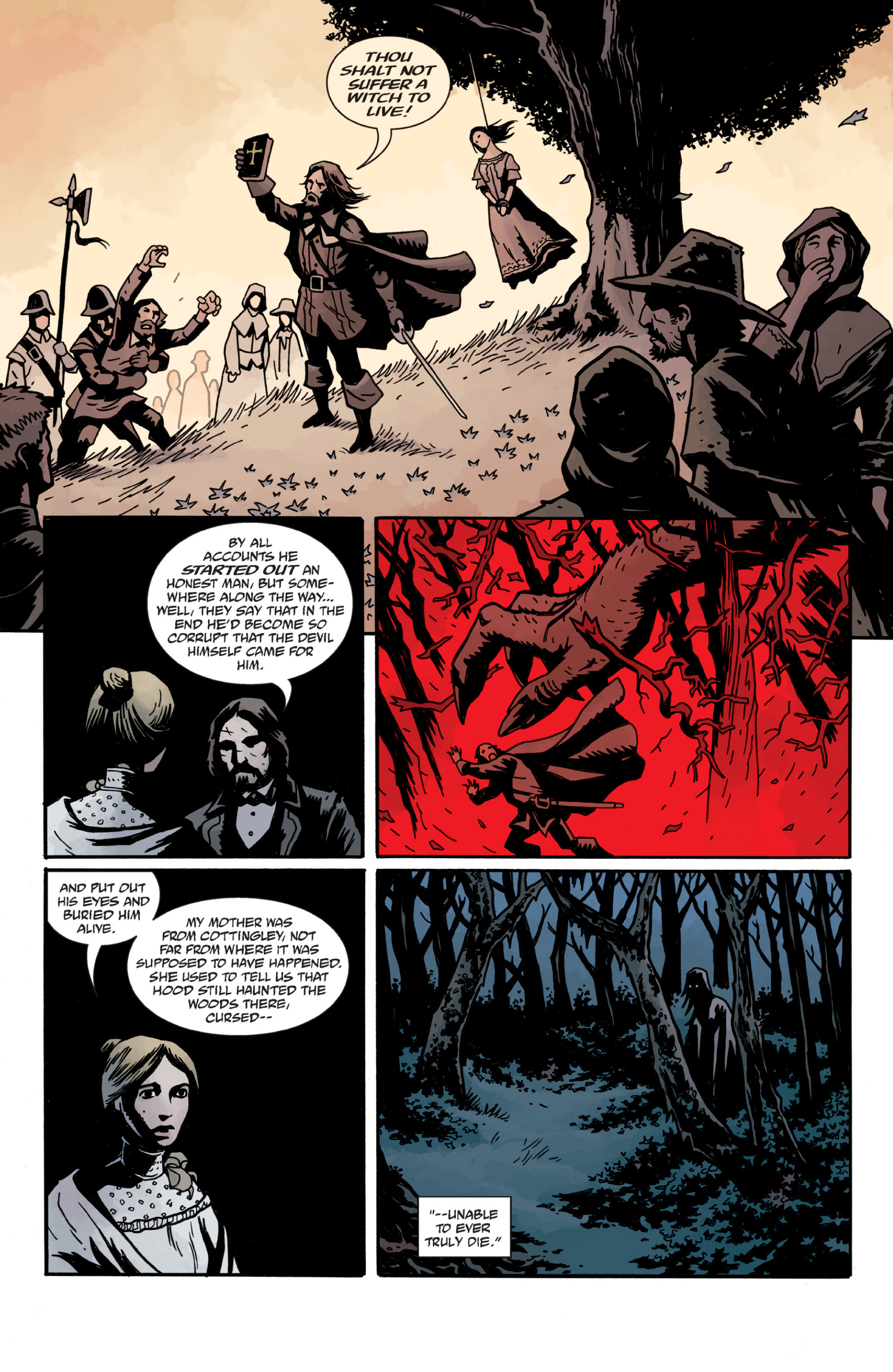 Read online Sir Edward Grey, Witchfinder: In the Service of Angels comic -  Issue # TPB - 94