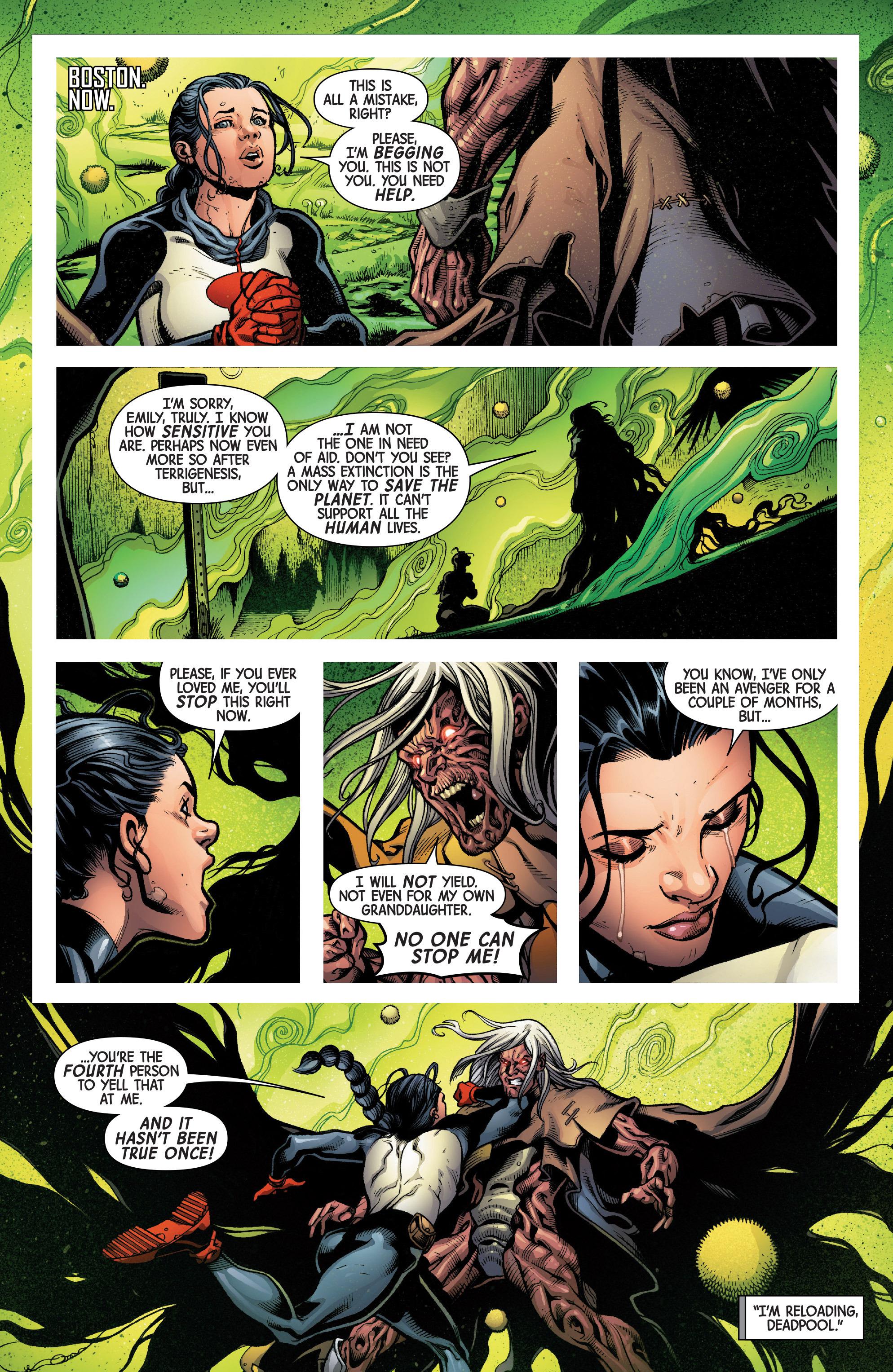 Read online Uncanny Avengers [II] comic -  Issue #4 - 4