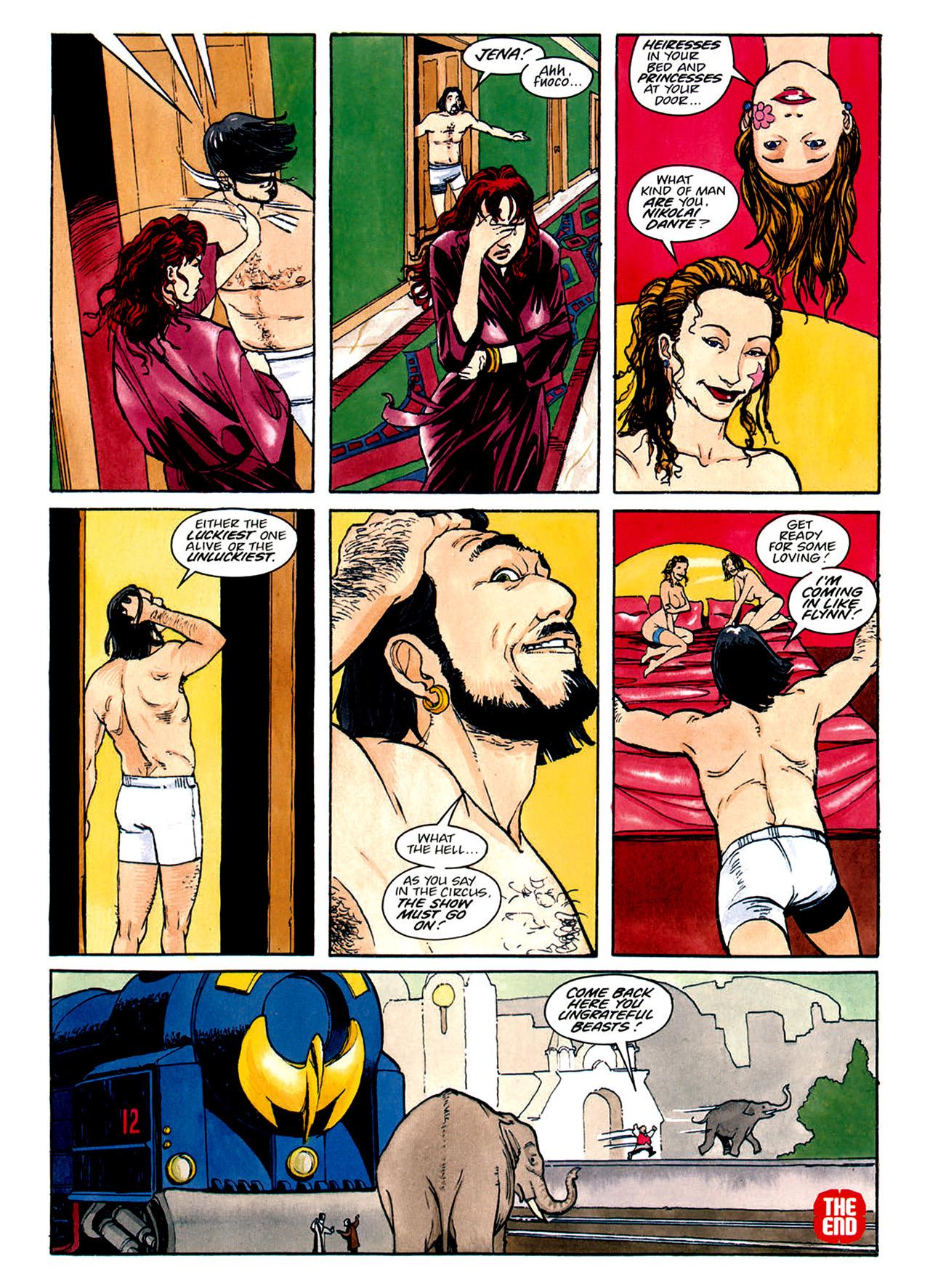 Read online Nikolai Dante comic -  Issue # TPB 1 - 153
