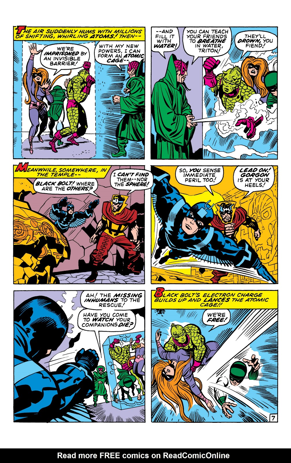 Read online Marvel Masterworks: The Inhumans comic -  Issue # TPB 1 (Part 2) - 9