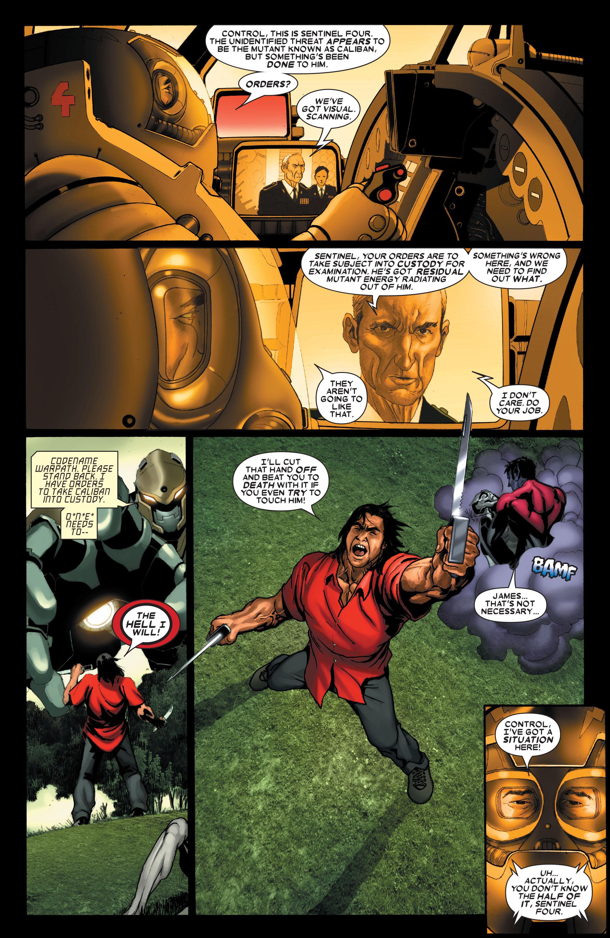 Read online Uncanny X-Men (1963) comic -  Issue #487 - 17
