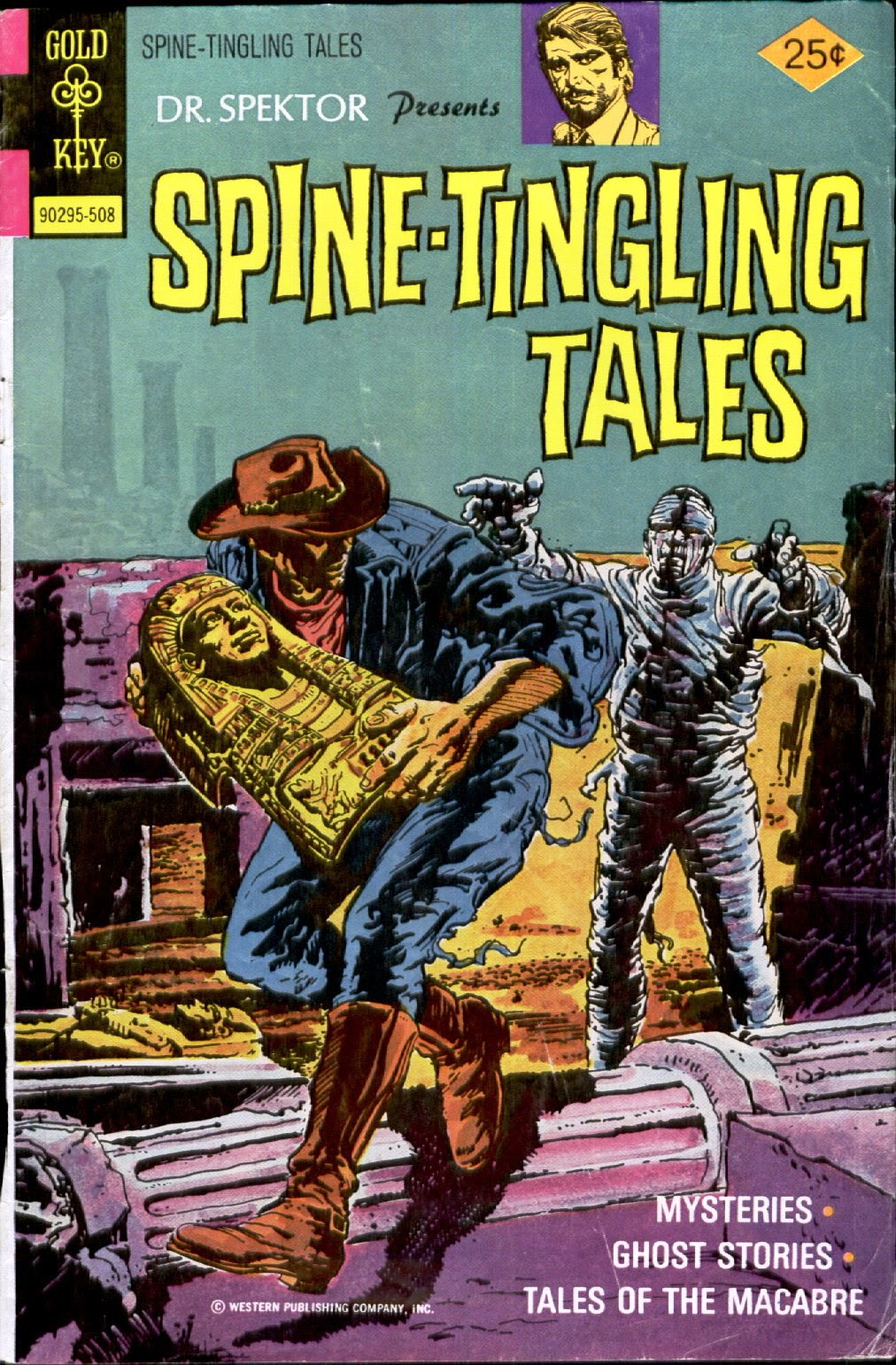 Read online Dr. Spektor Presents Spine-Tingling Tales comic -  Issue #2 - 1