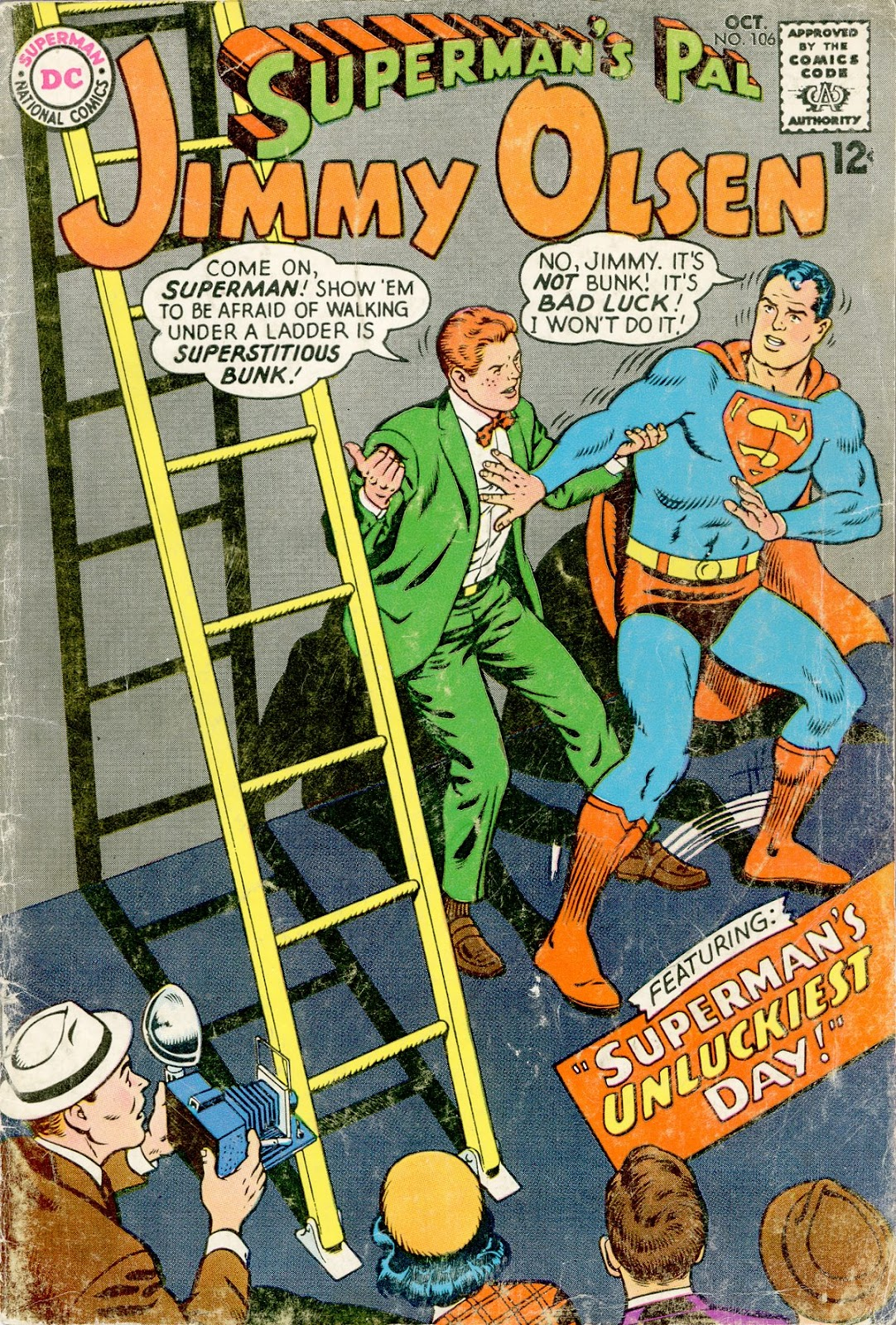 Supermans Pal Jimmy Olsen (1954) 106 Page 1