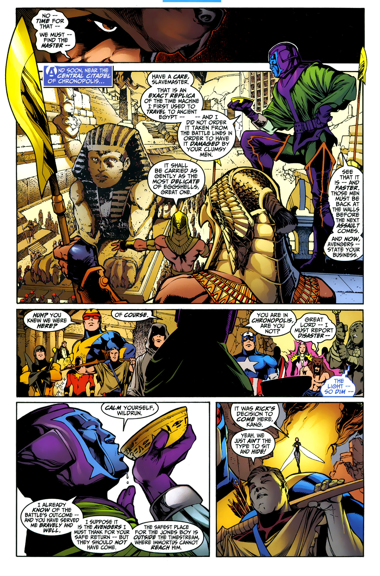 Avengers Forever Issue 3 | Viewcomic reading comics online
