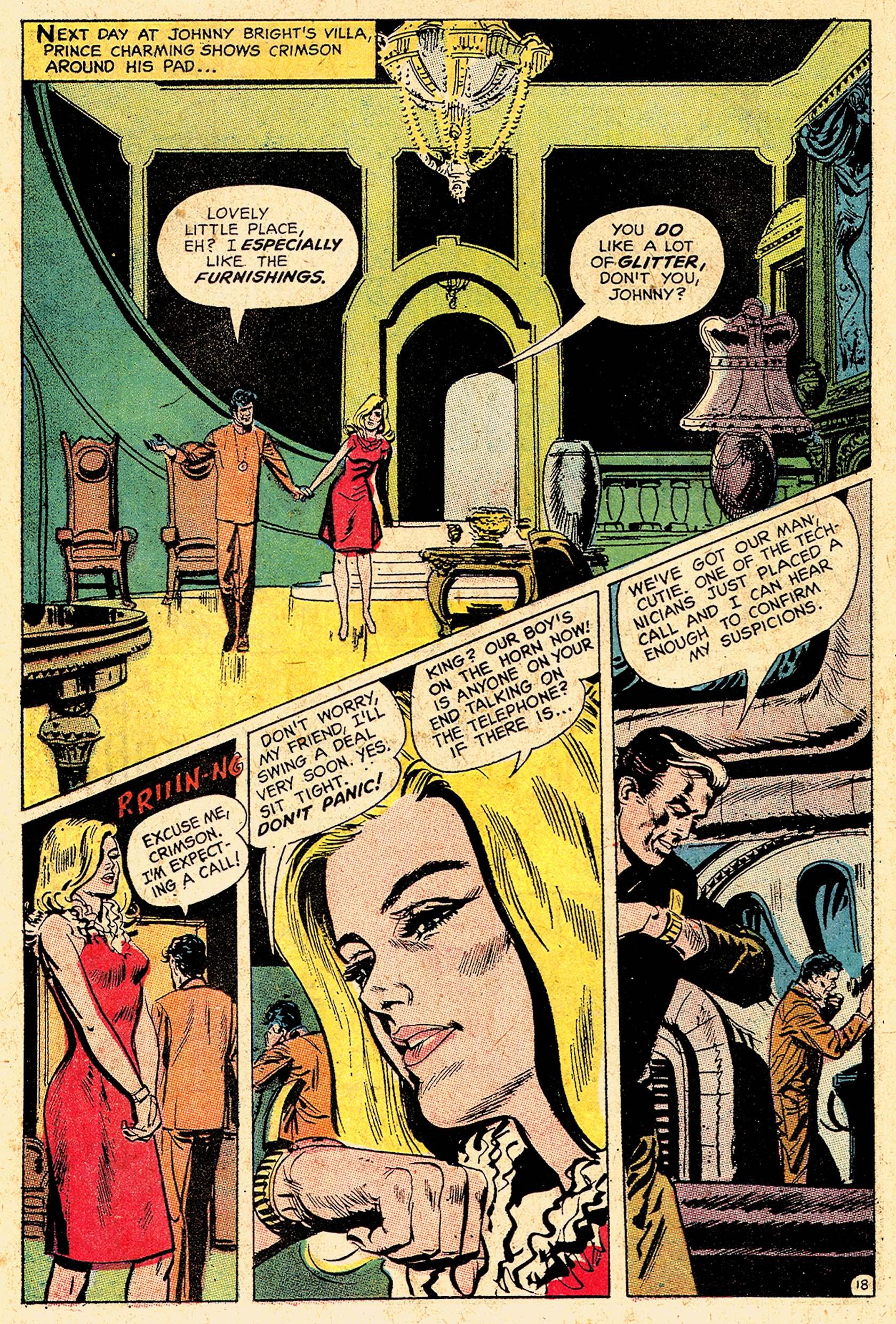 Read online Secret Six (1968) comic -  Issue #5 - 25