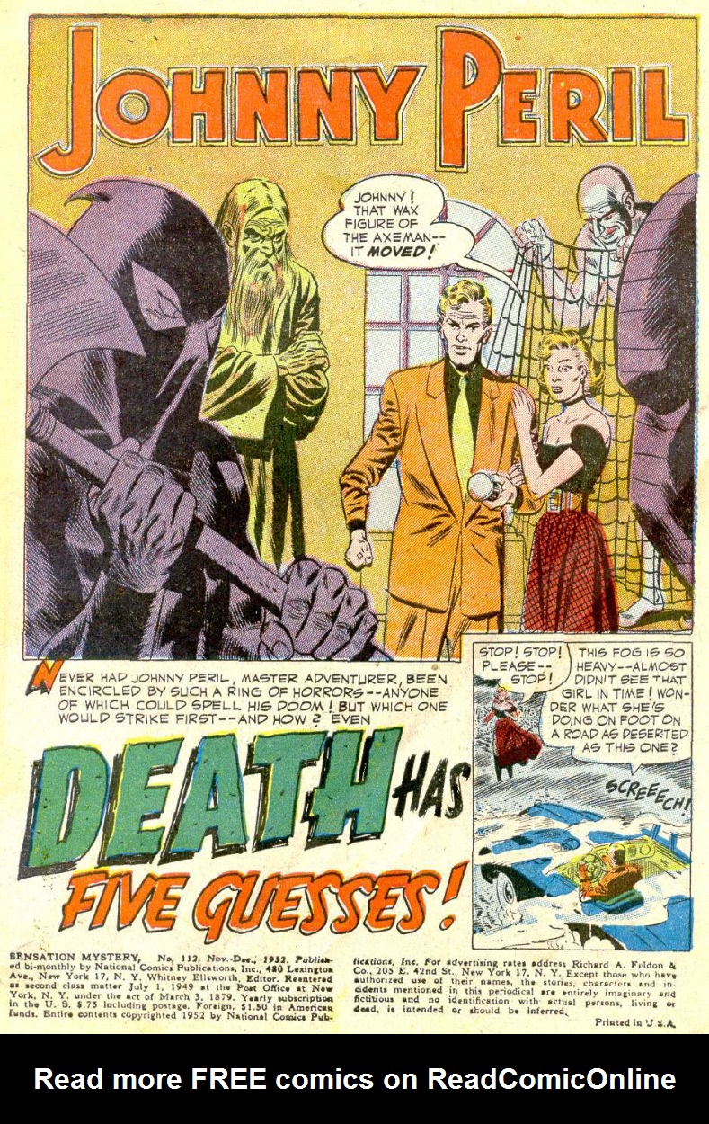 Read online Sensation (Mystery) Comics comic -  Issue #112 - 3
