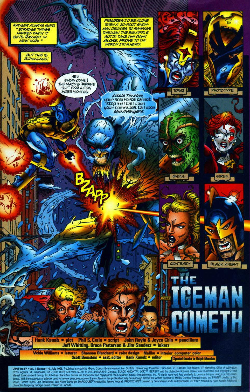 Read online UltraForce (1994) comic -  Issue #10 - 2