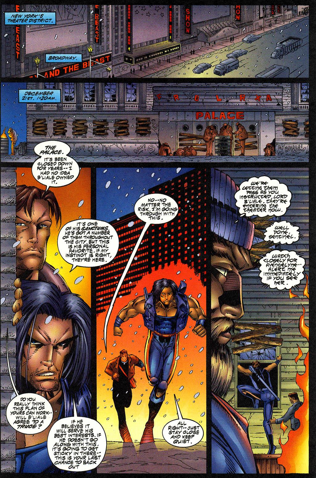 Read online Avengelyne (1996) comic -  Issue #12 - 6