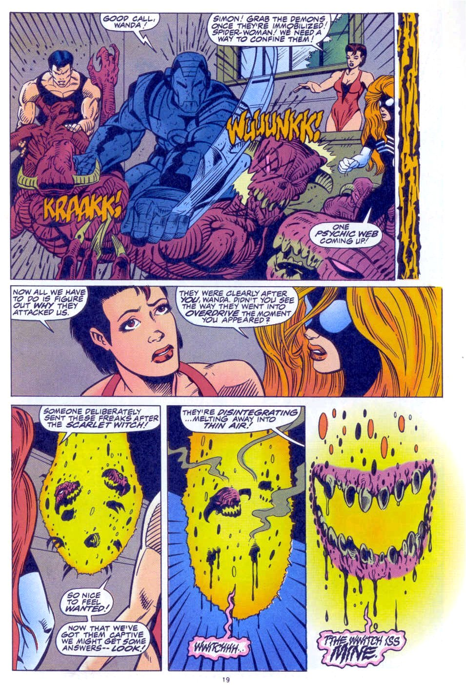 Scarlet Witch (1994) Issue #1 #1 - English 16