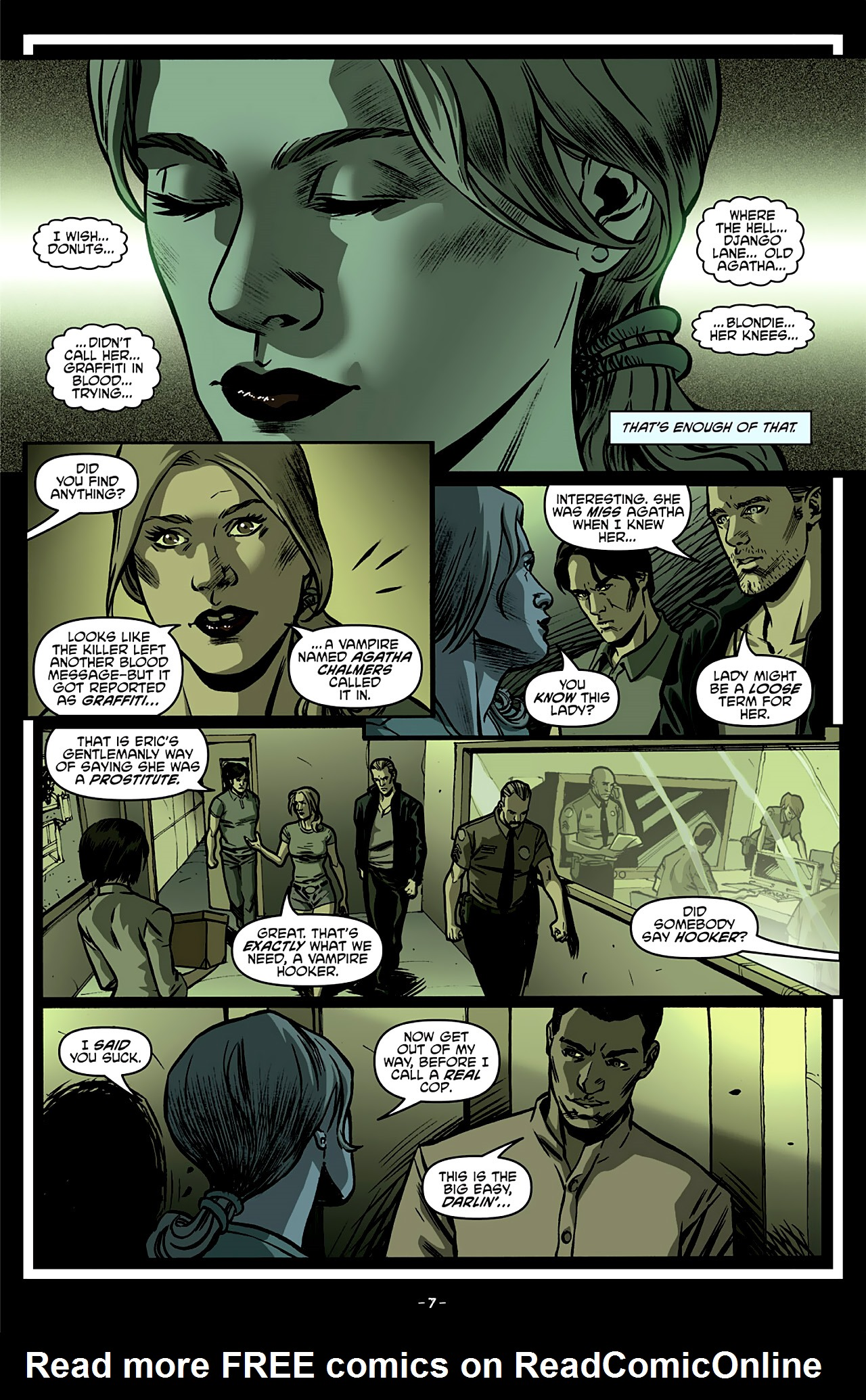 Read online True Blood: French Quarter comic -  Issue #4 - 12