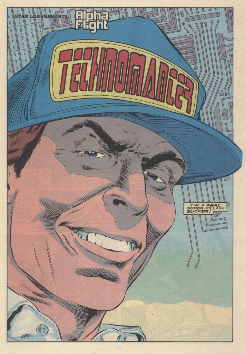 Read online Alpha Flight (1983) comic -  Issue #63 - 5