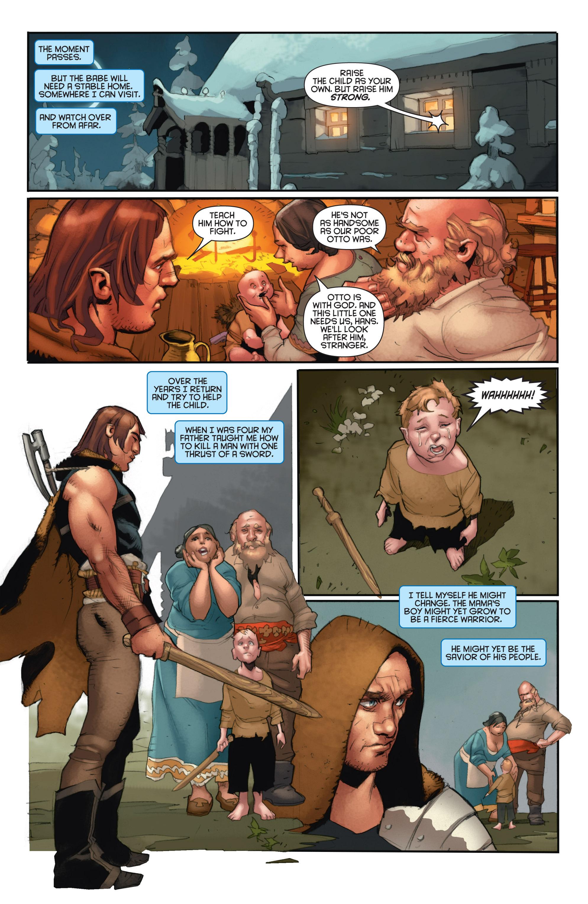 Read online Eternal Warrior: Days of Steel comic -  Issue #2 - 8