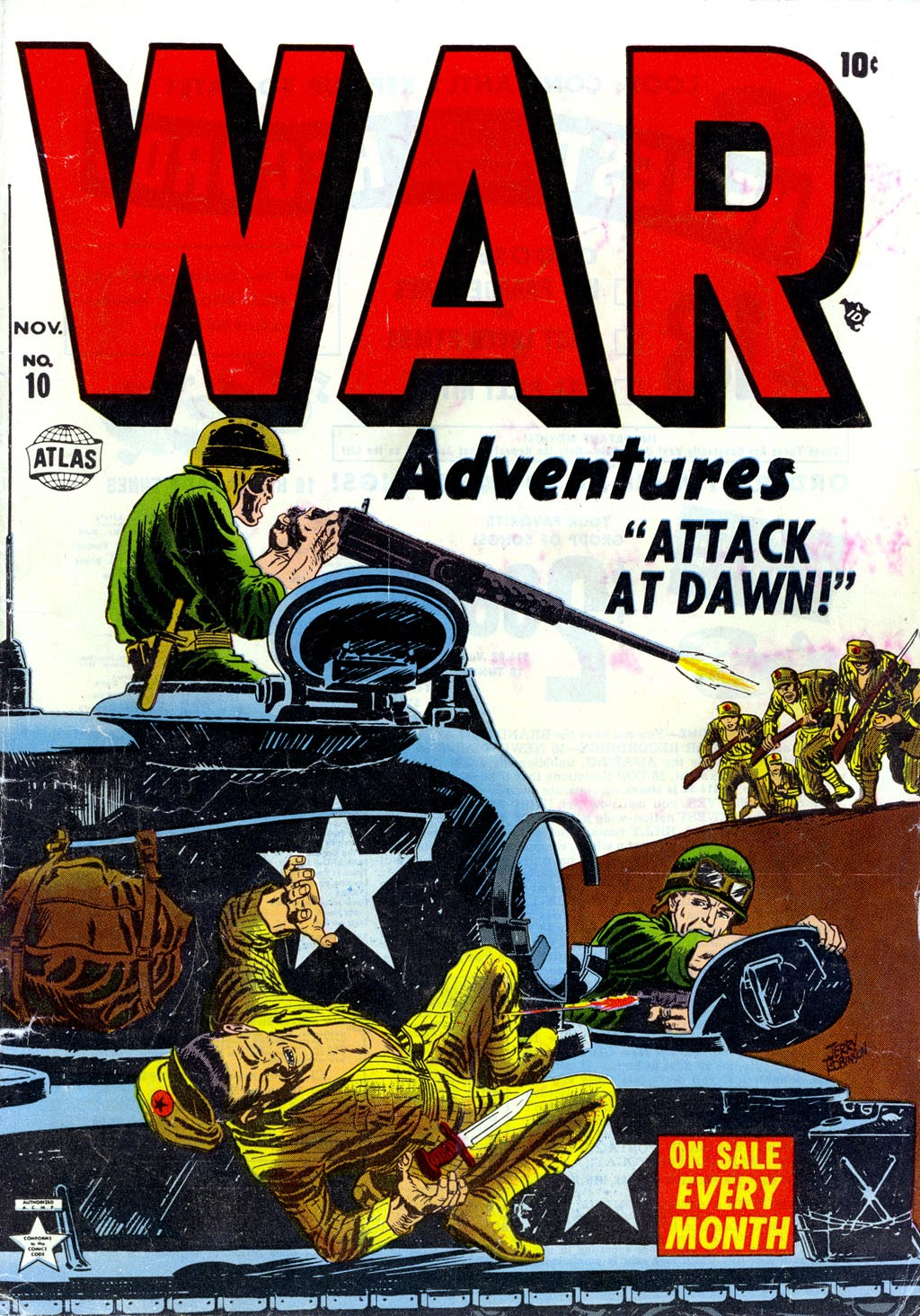 War Adventures 10 Page 1