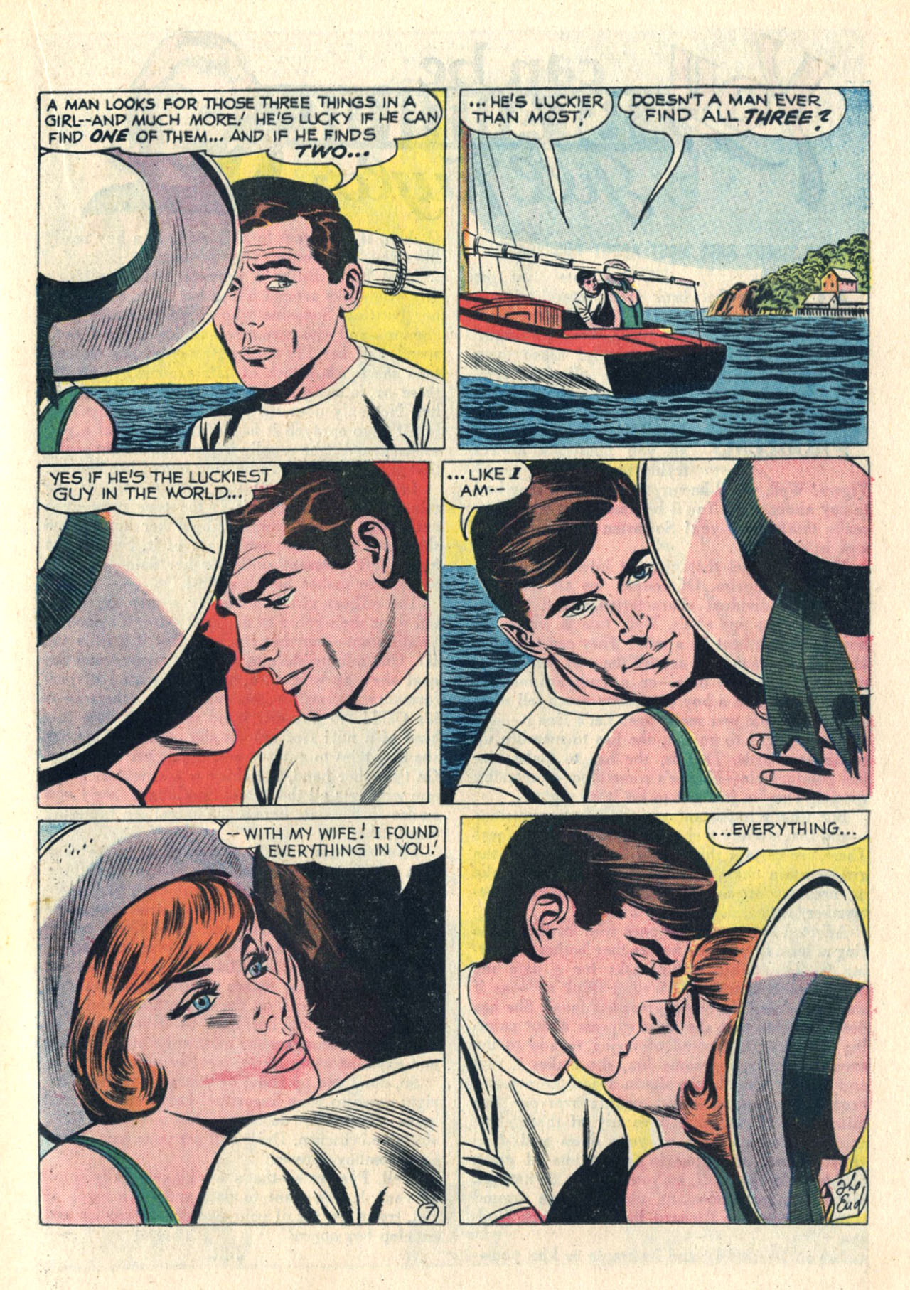 Read online Secret Hearts comic -  Issue #113 - 17