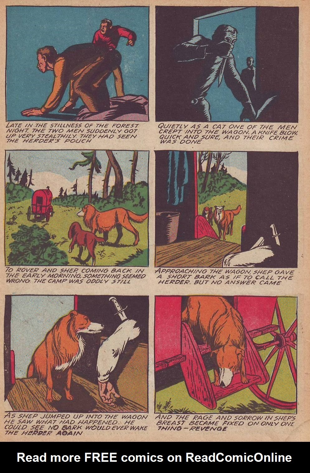 Read online Animal Comics comic -  Issue #21 - 30
