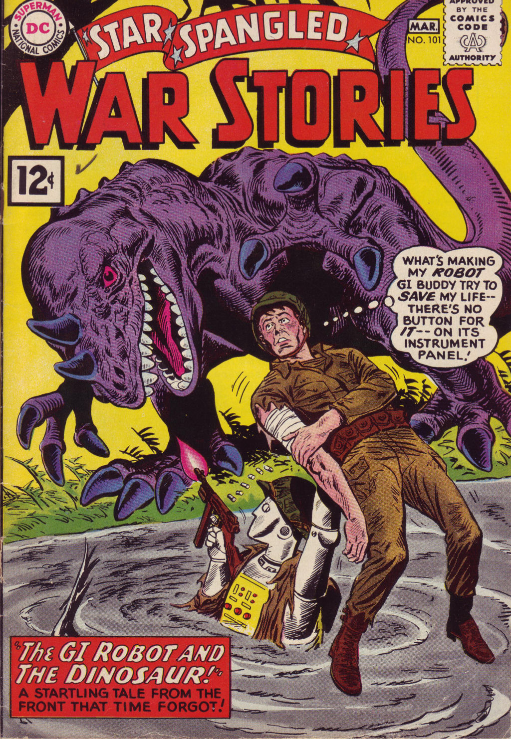 Star Spangled War Stories (1952) issue 101 - Page 1
