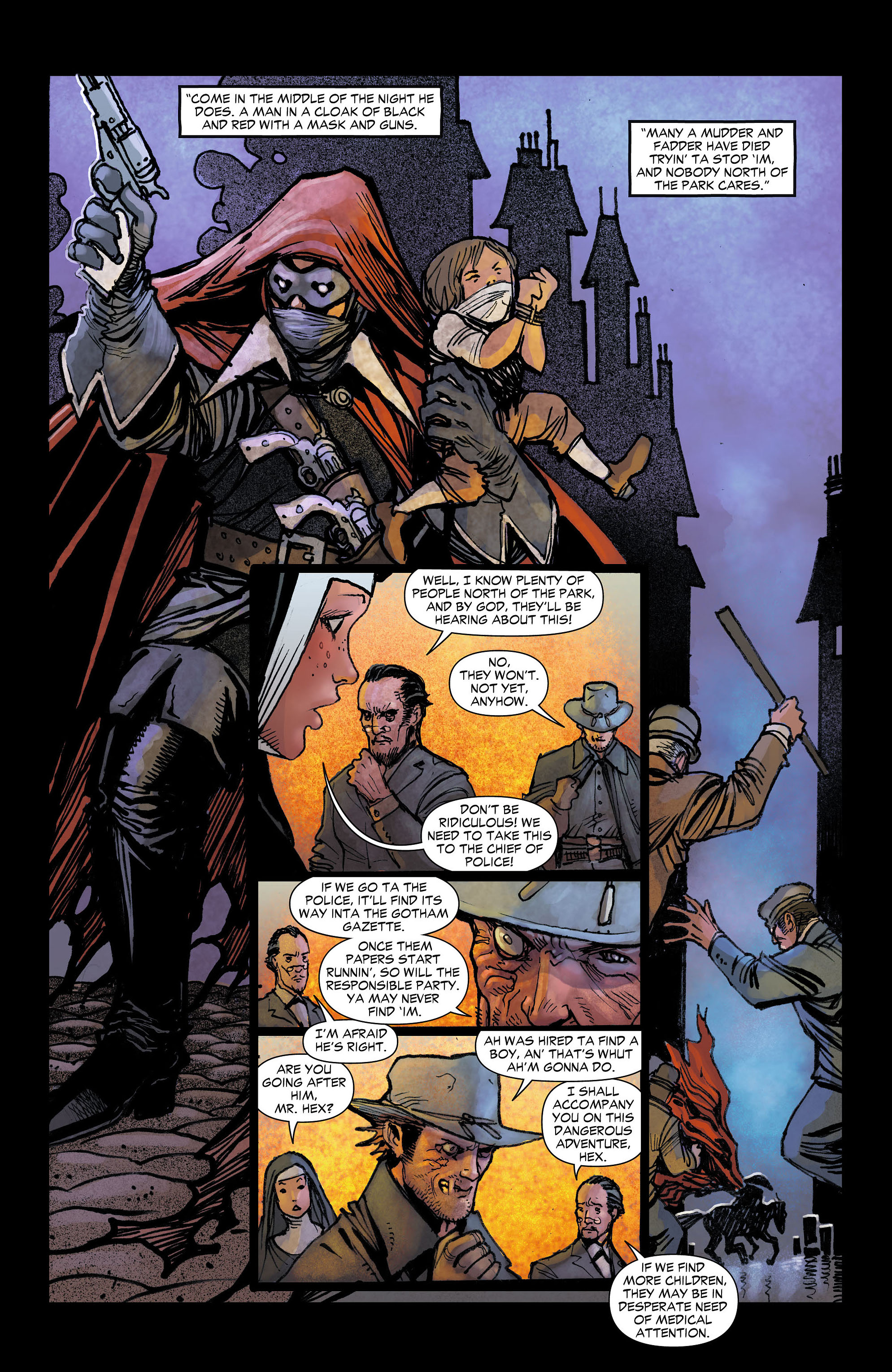 Read online All-Star Western (2011) comic -  Issue #4 - 16