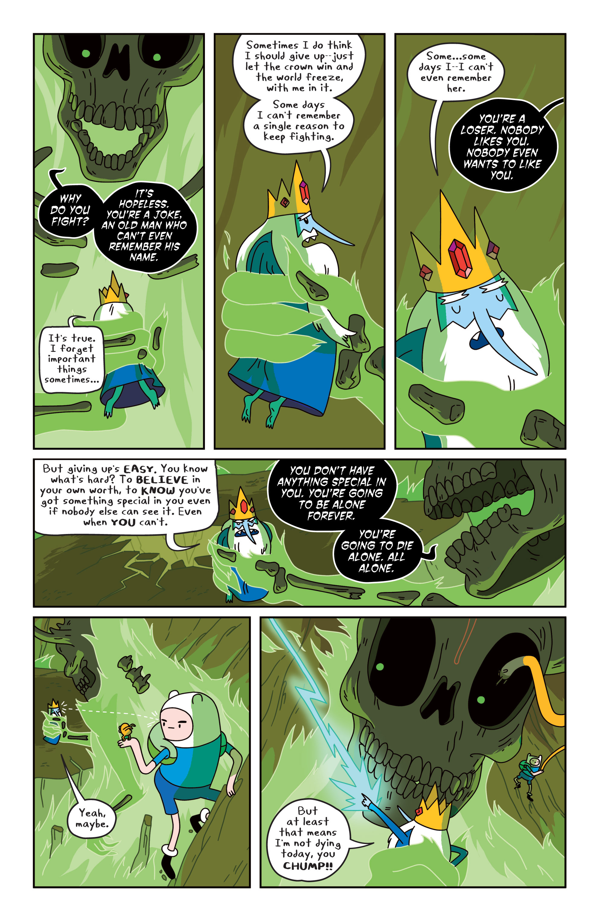 Read online Adventure Time comic -  Issue #19 - 19