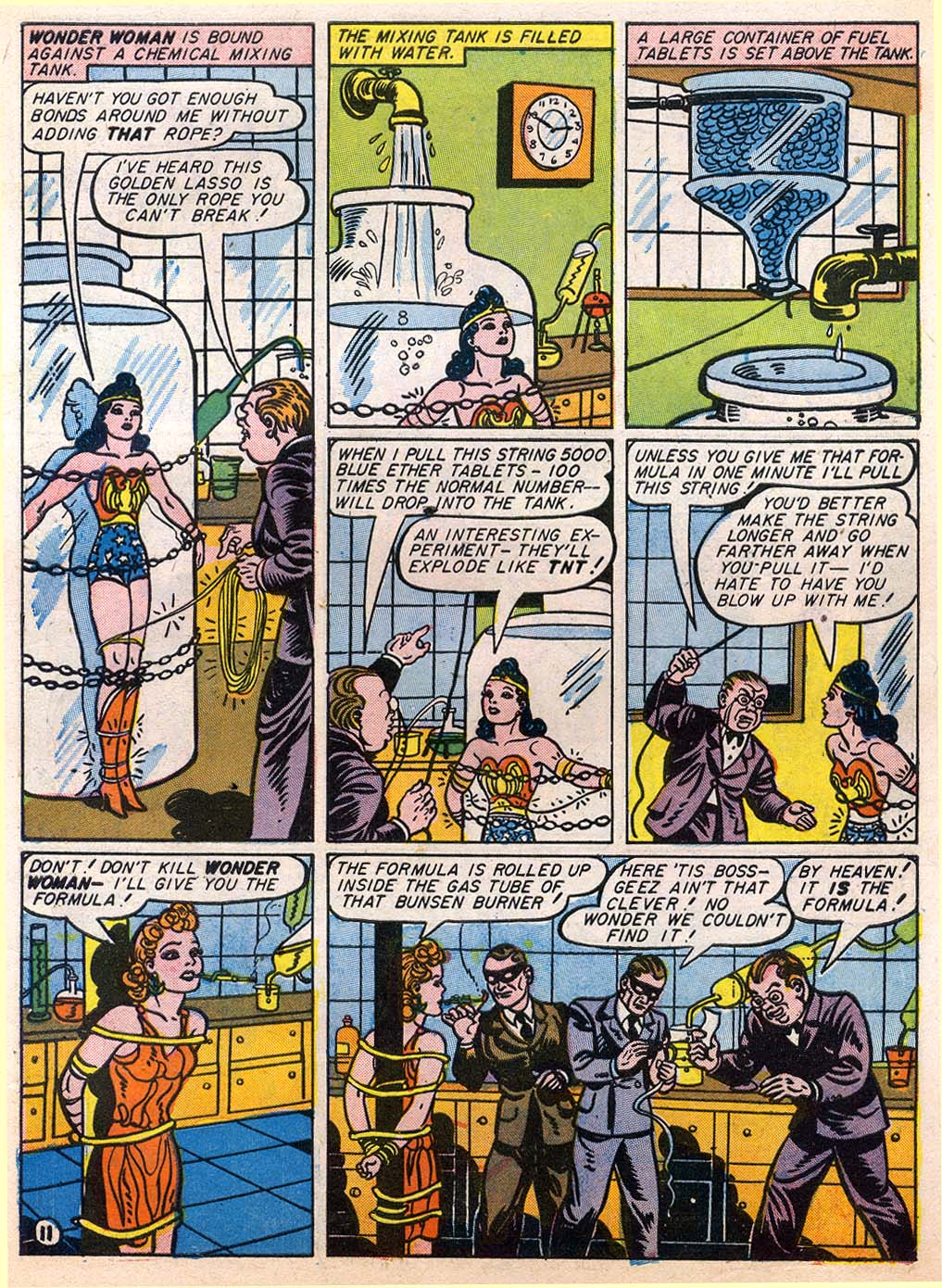 Read online Sensation (Mystery) Comics comic -  Issue #27 - 13