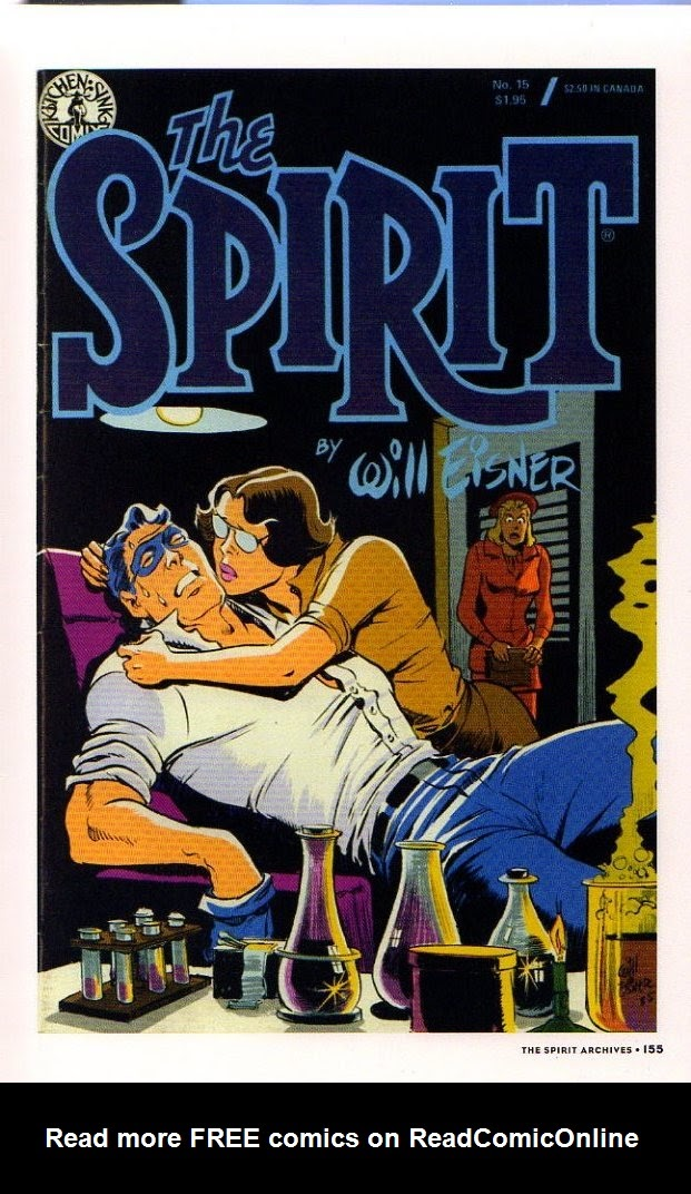 Read online Will Eisner's The Spirit Archives comic -  Issue # TPB 26 (Part 2) - 62