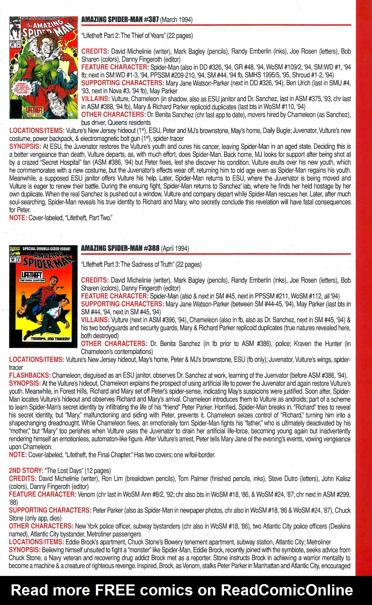 Read online Official Index to the Marvel Universe comic -  Issue #9 - 15