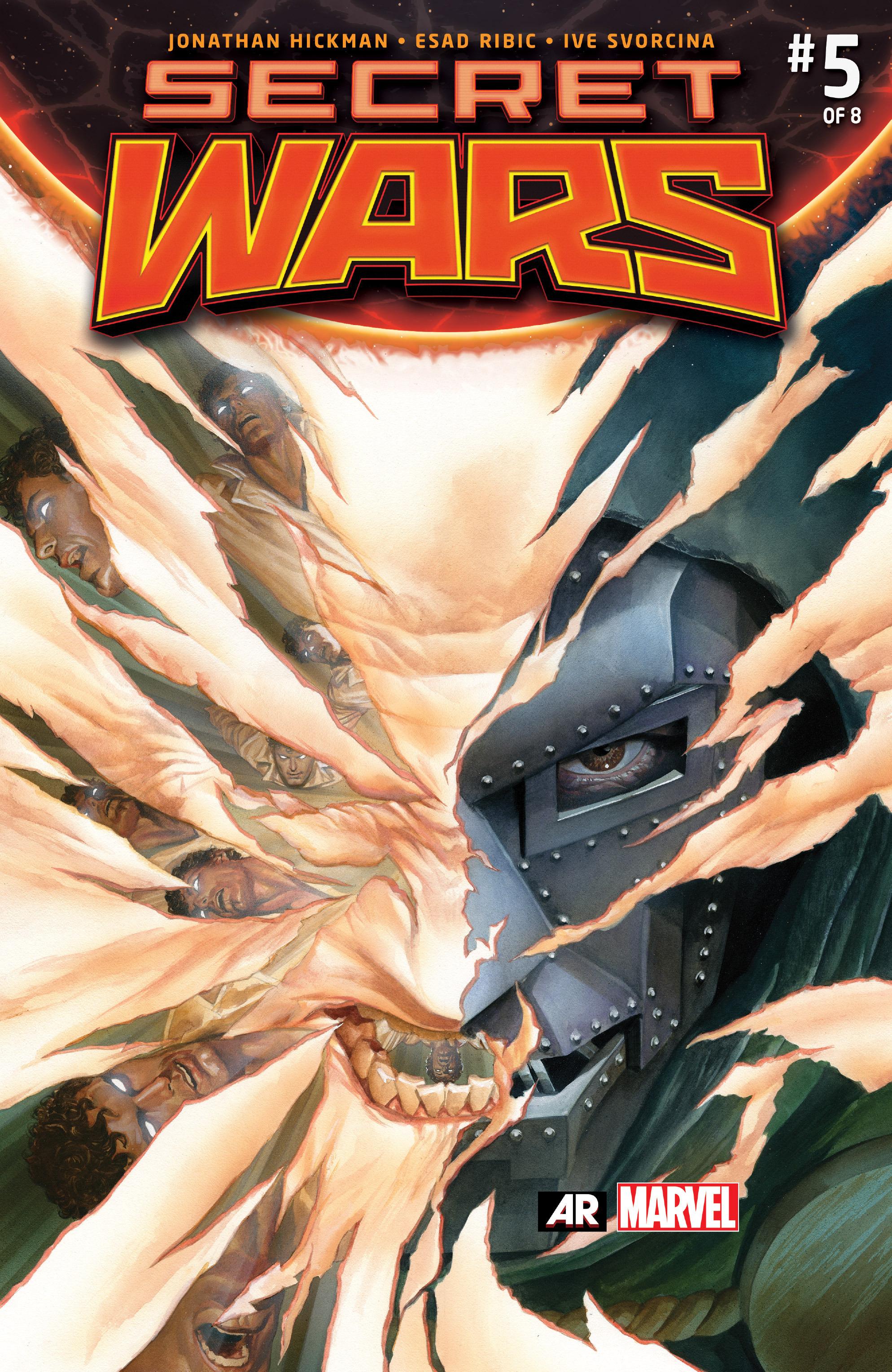 Secret Wars 5 Page 1