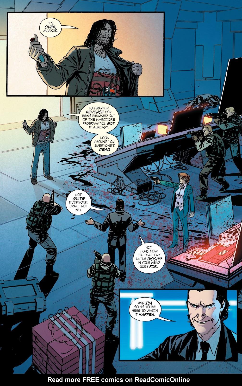 Read online Hardcore comic -  Issue #5 - 3
