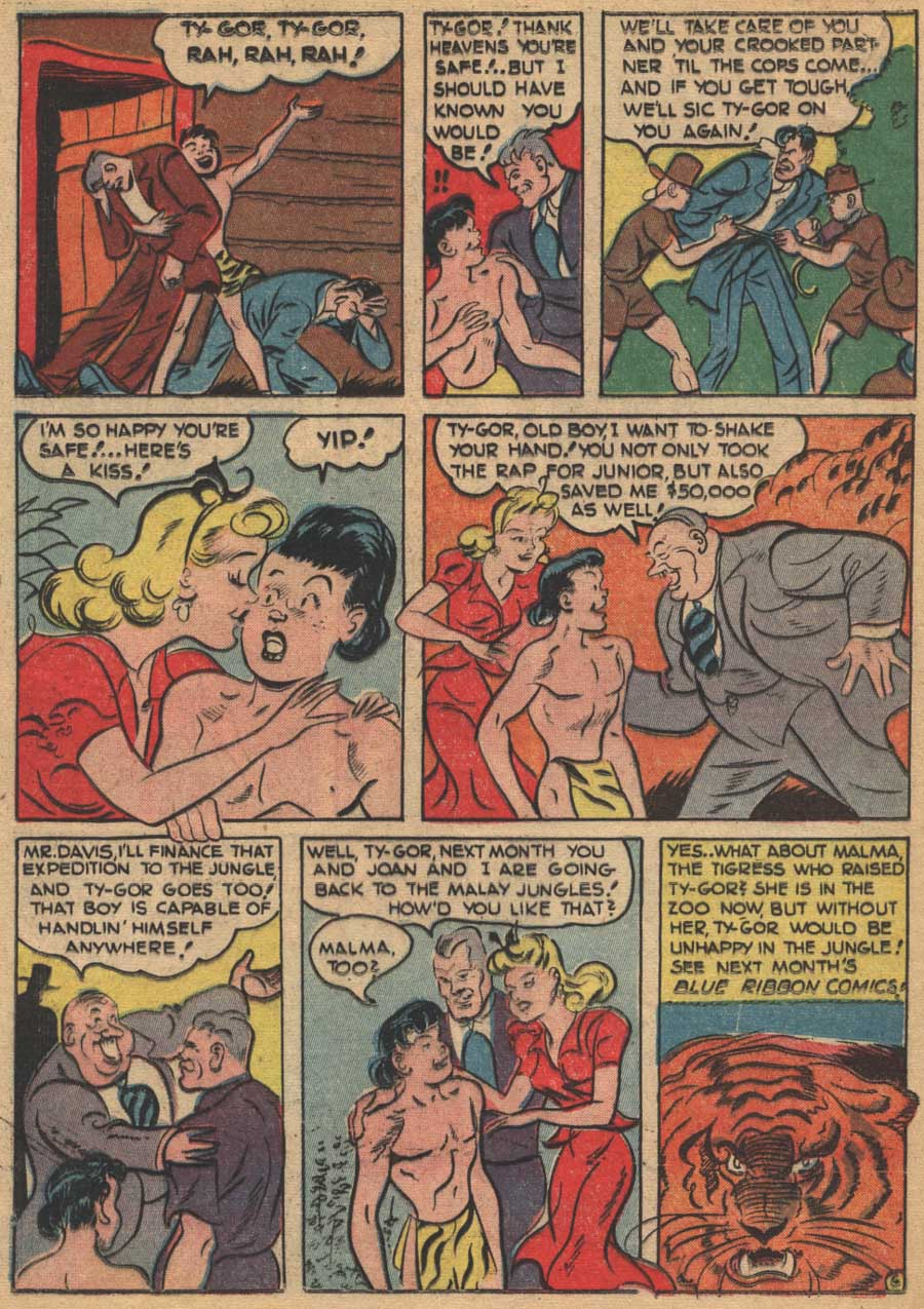 Blue Ribbon Comics (1939) issue 16 - Page 44