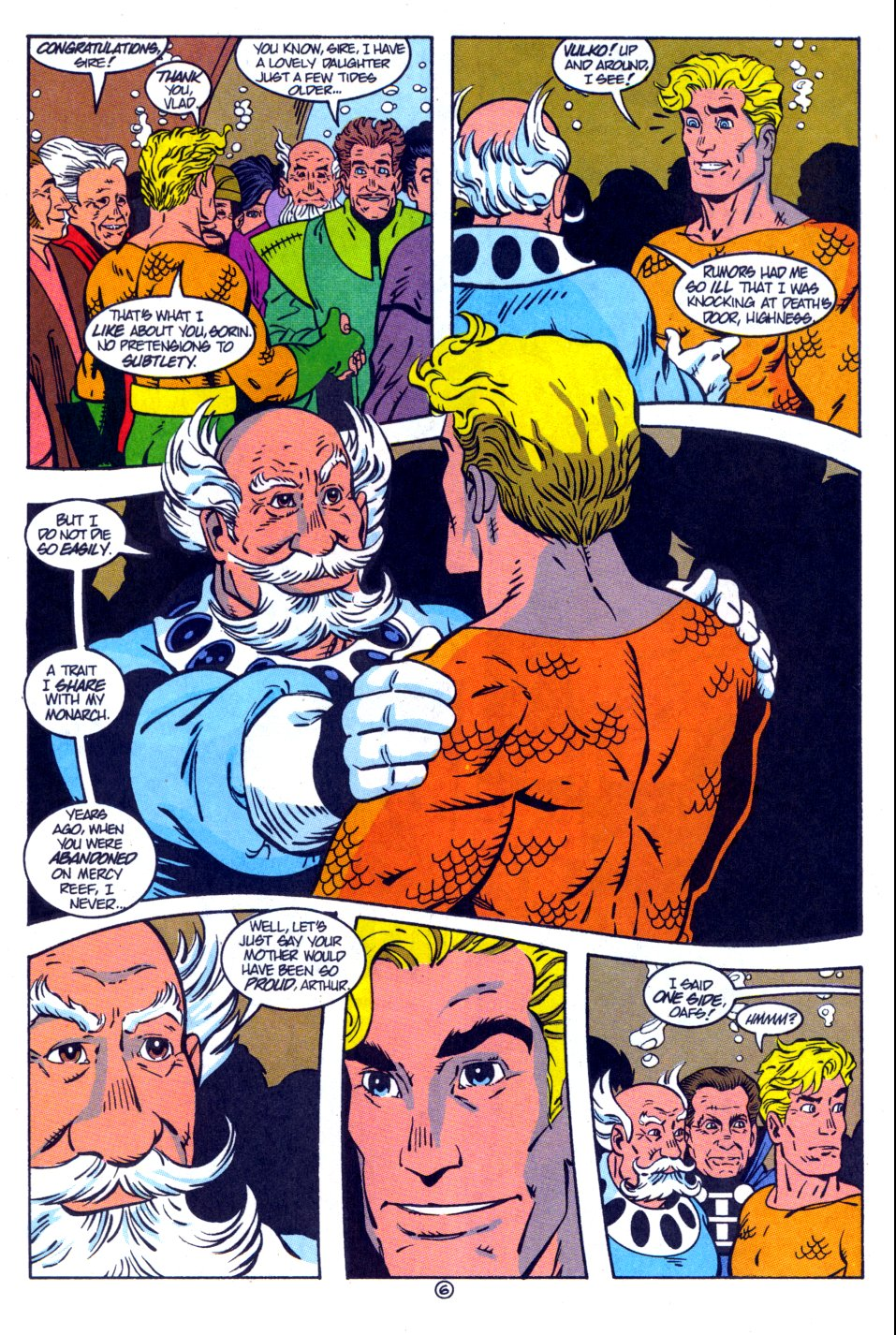 Read online Aquaman: Time and Tide comic -  Issue #4 - 7