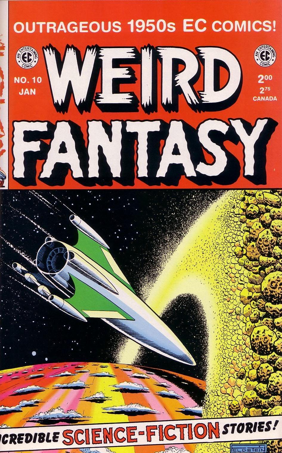 Weird Fantasy (1951) issue 10 - Page 1