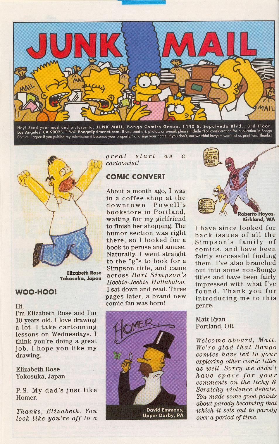 Read online Simpsons Comics comic -  Issue #52 - 24