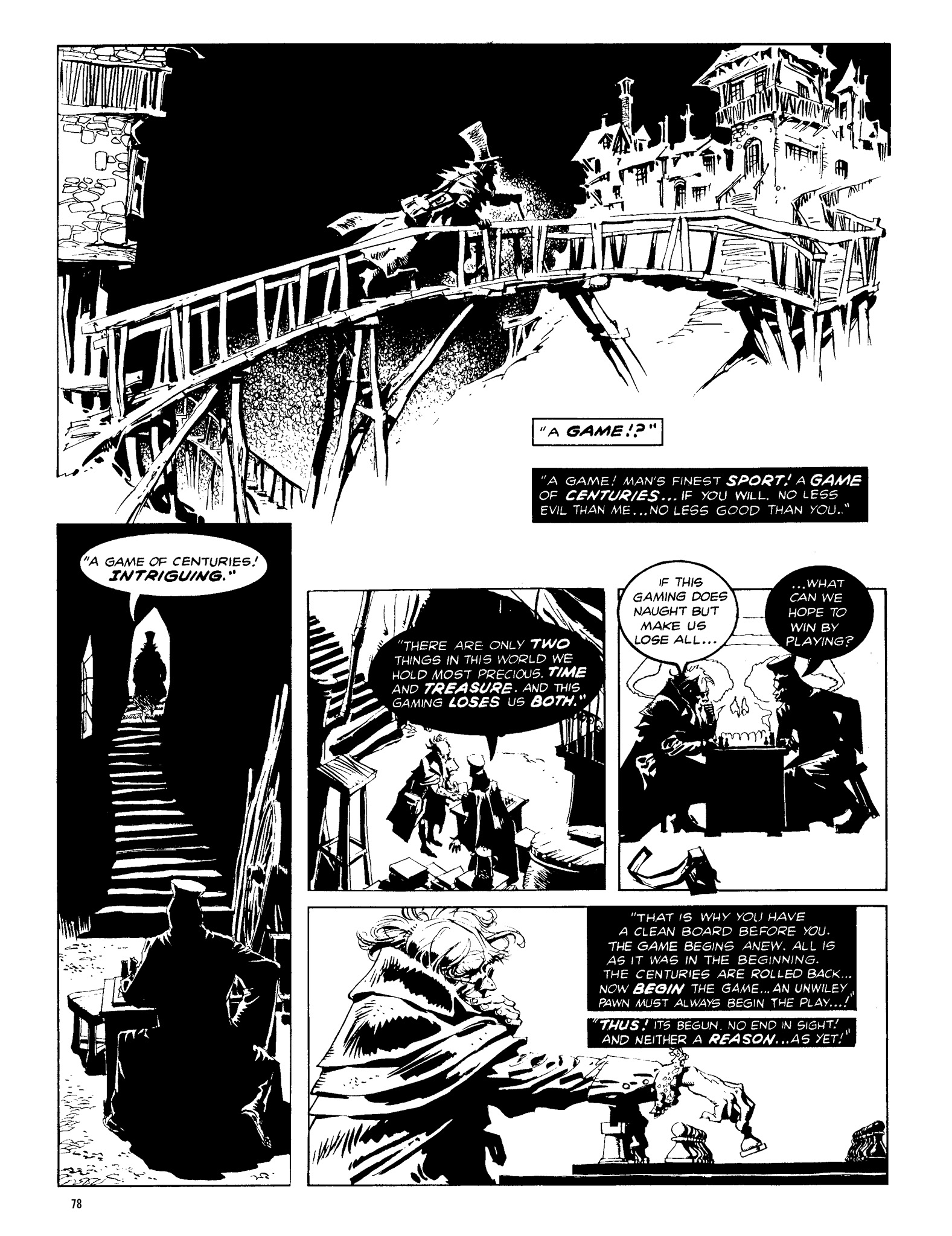 Read online Eerie Archives comic -  Issue # TPB 13 - 79