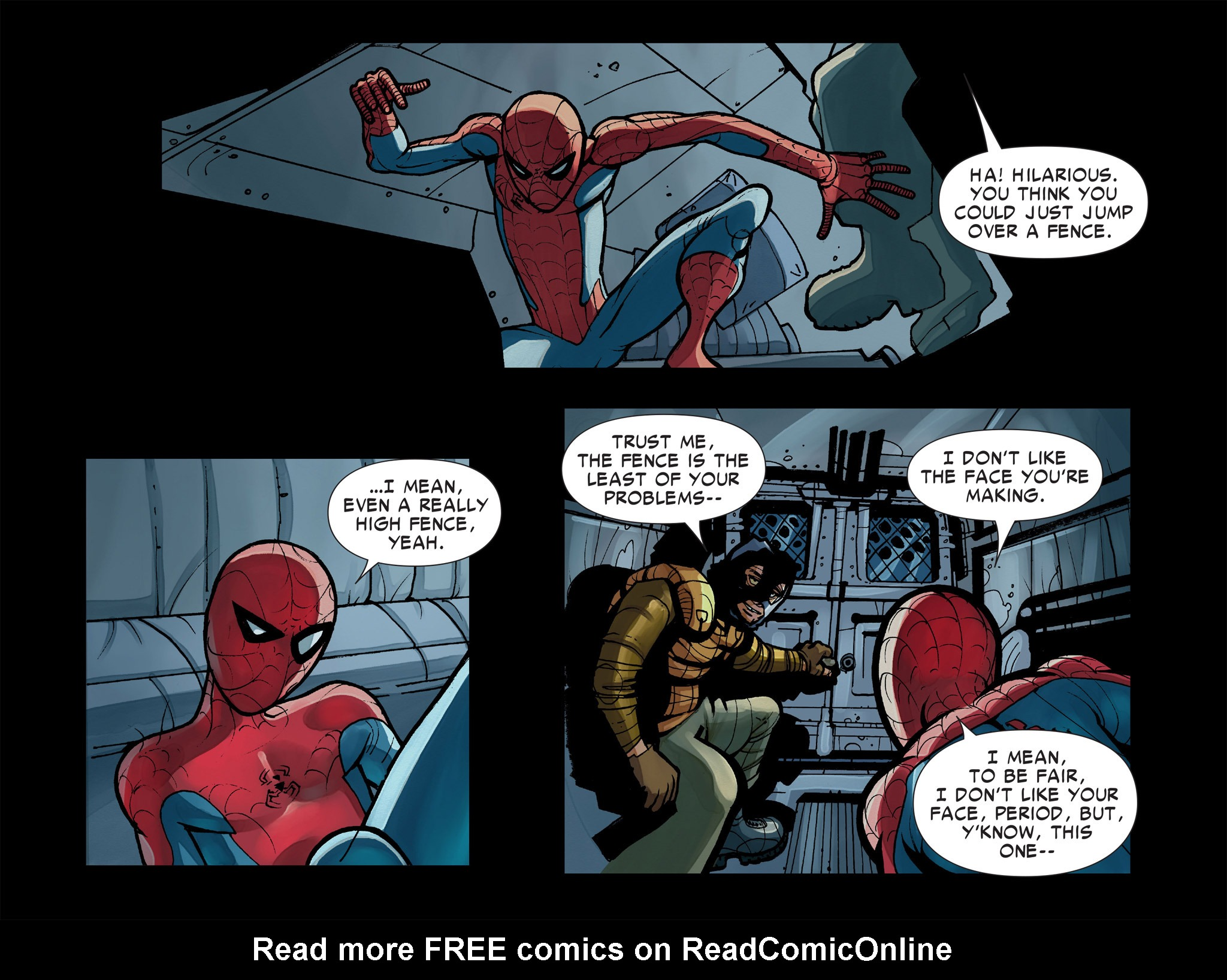 Read online Amazing Spider-Man: Who Am I? comic -  Issue # Full (Part 1) - 121
