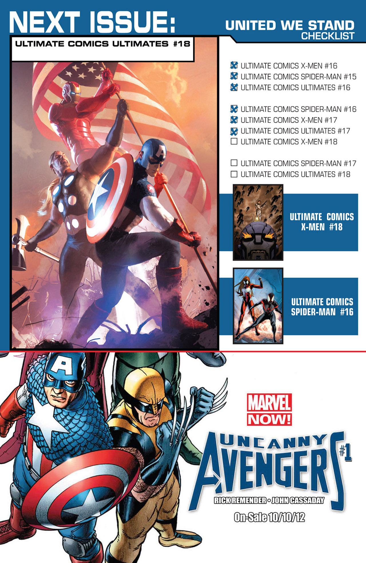 Read online Ultimate Comics Ultimates comic -  Issue #17 - 24