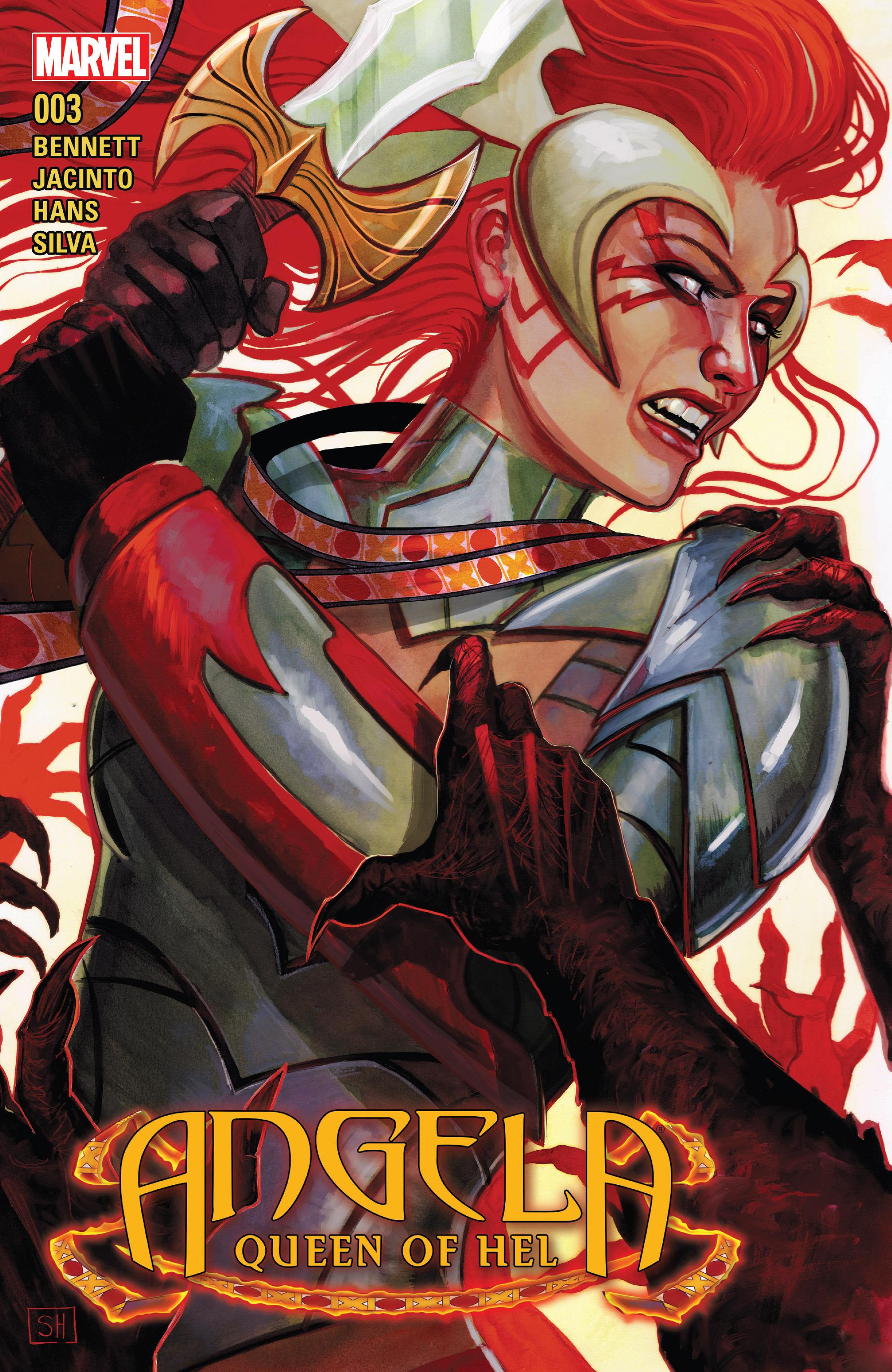Angela: Queen Of Hel 3 Page 1