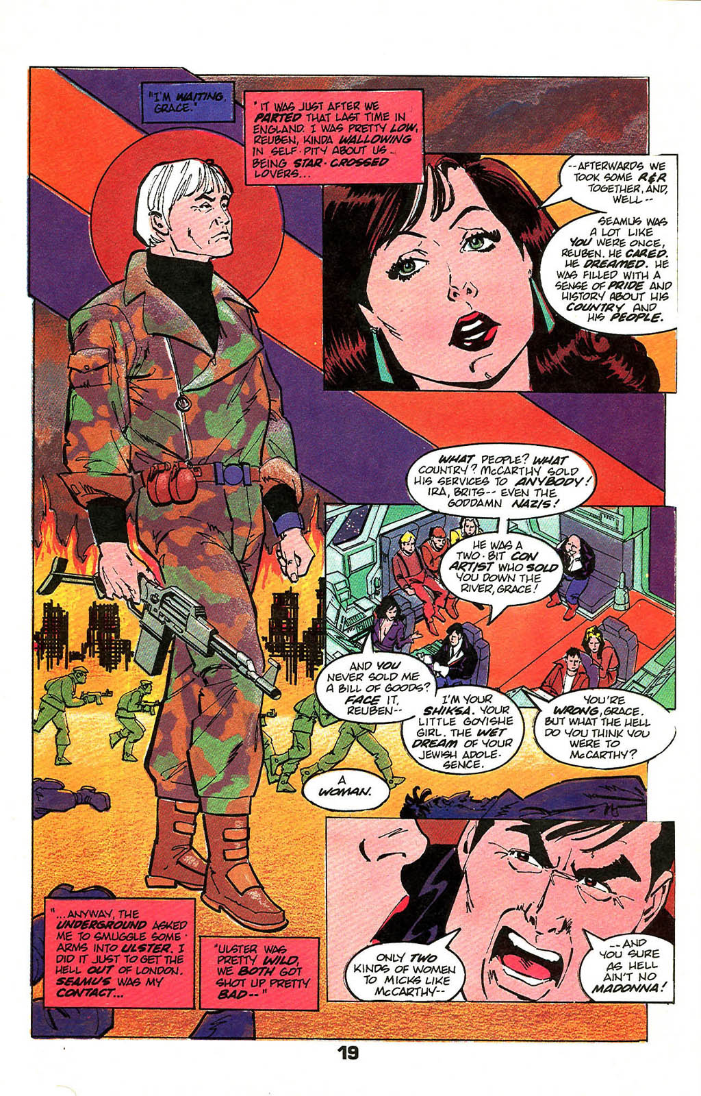 Read online American Flagg! comic -  Issue #49 - 25