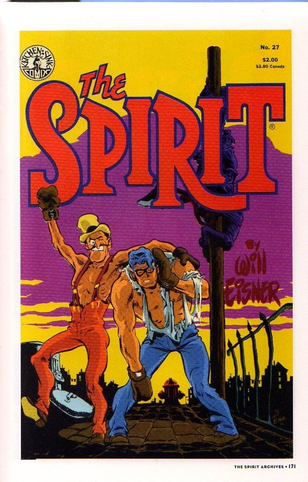 Read online Will Eisner's The Spirit Archives comic -  Issue # TPB 26 (Part 2) - 78