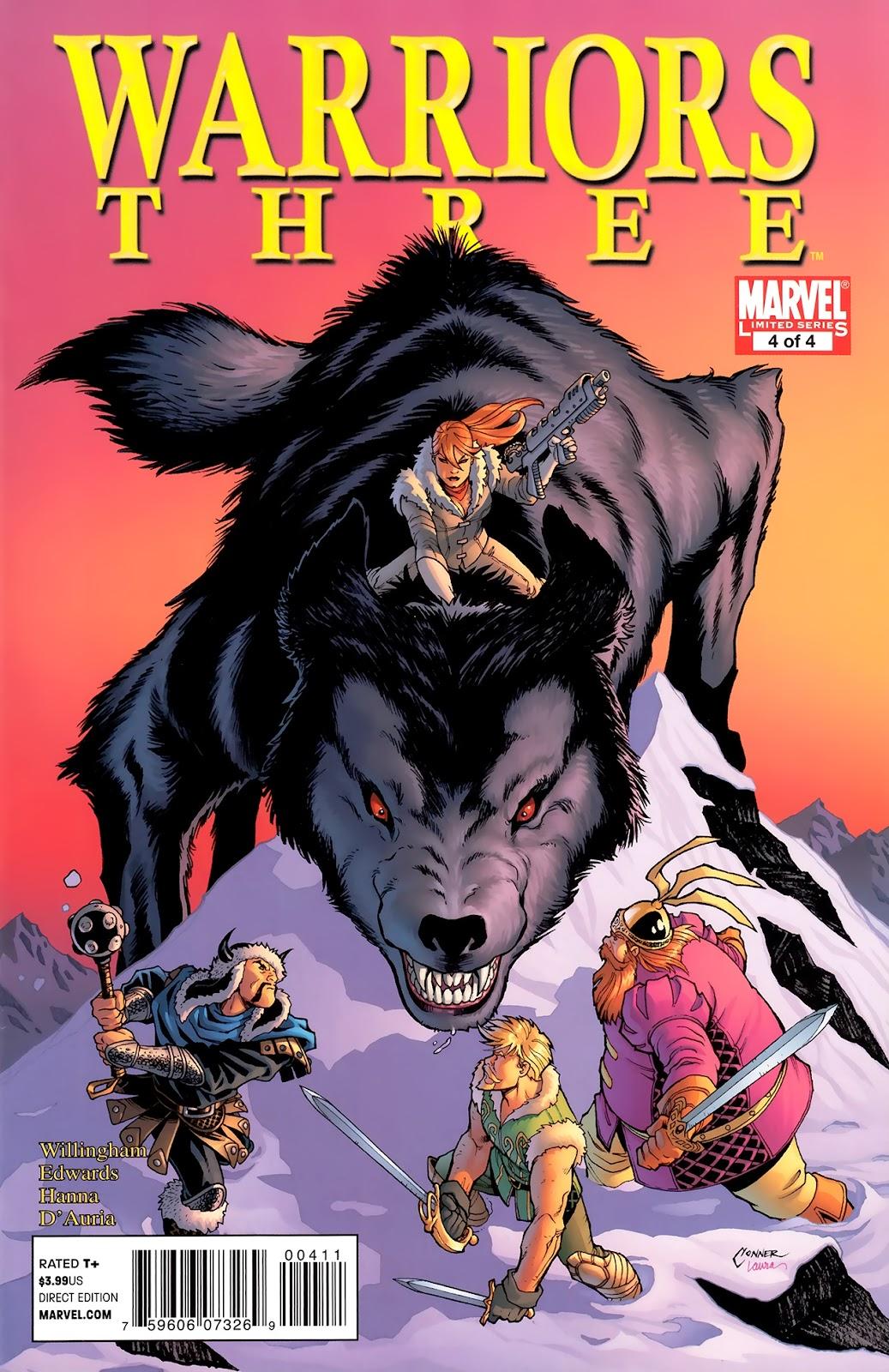 Warriors Three Issue #4 #4 - English 1