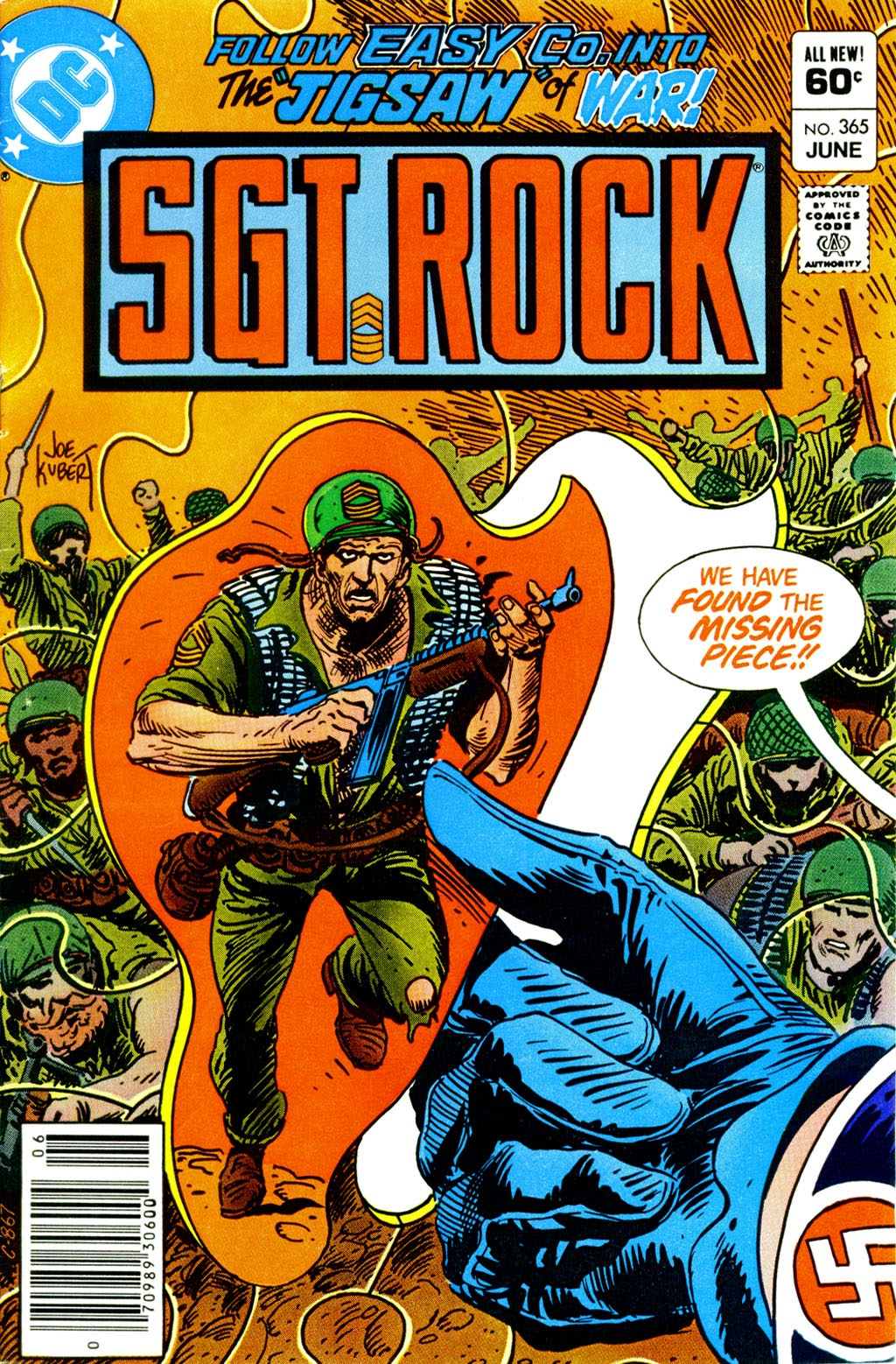 Read online Sgt. Rock comic -  Issue #365 - 1