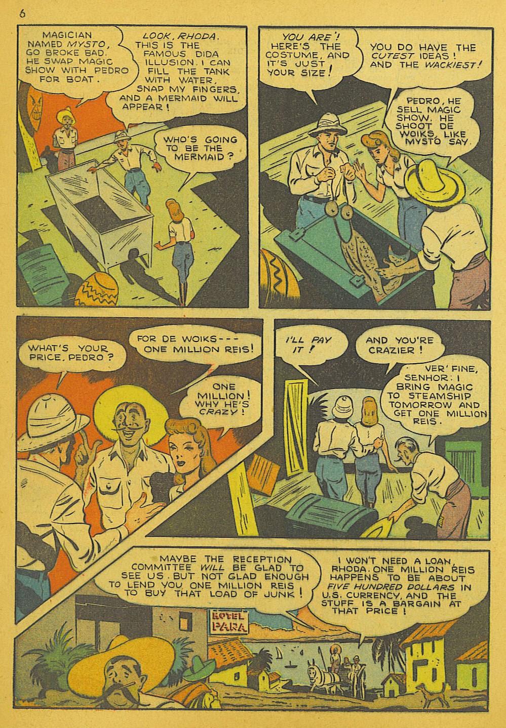 Read online Super-Magician Comics comic -  Issue #10 - 6