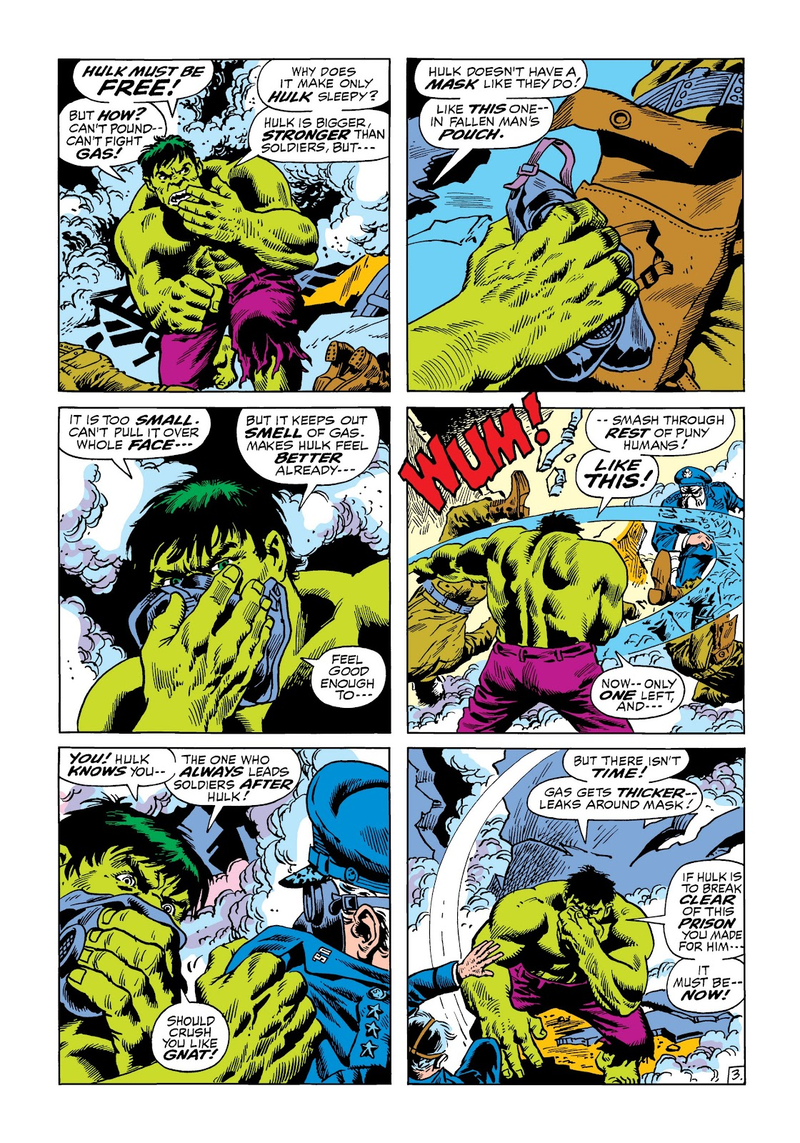 Read online Marvel Masterworks: The Incredible Hulk comic -  Issue # TPB 8 (Part 2) - 33