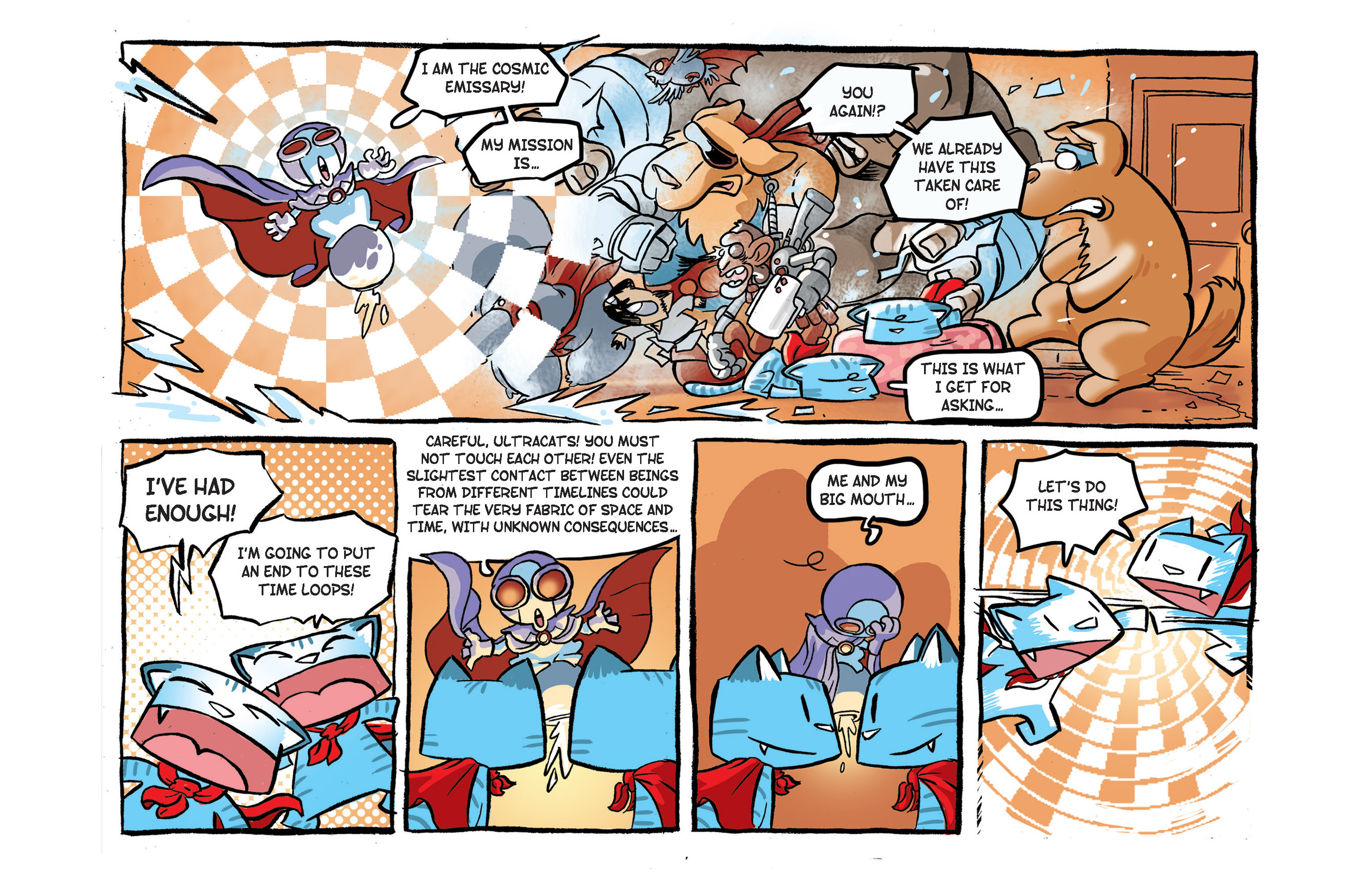 Read online Ultracat comic -  Issue #4 - 4