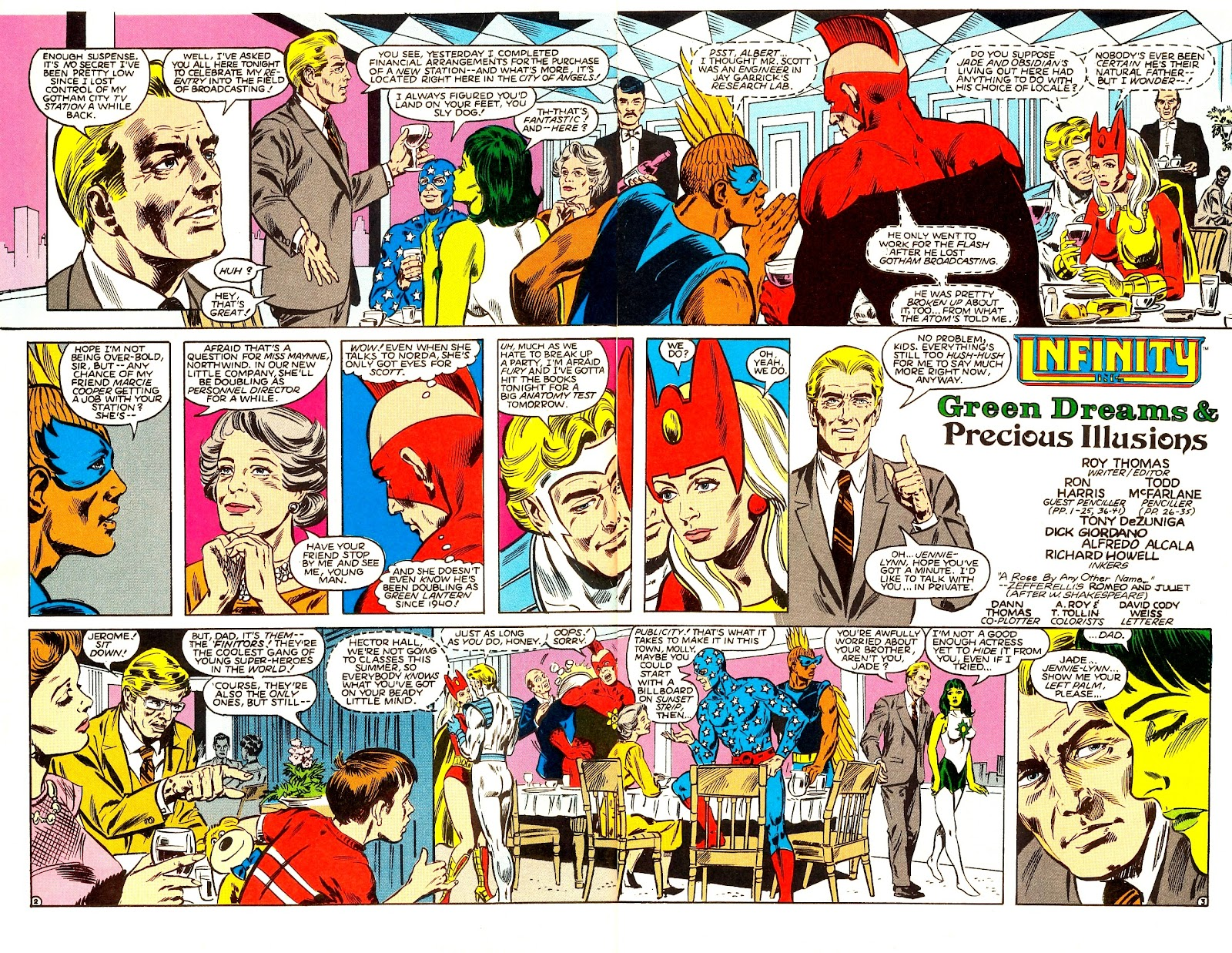 Infinity Inc. (1984) issue Annual 1 - Page 4