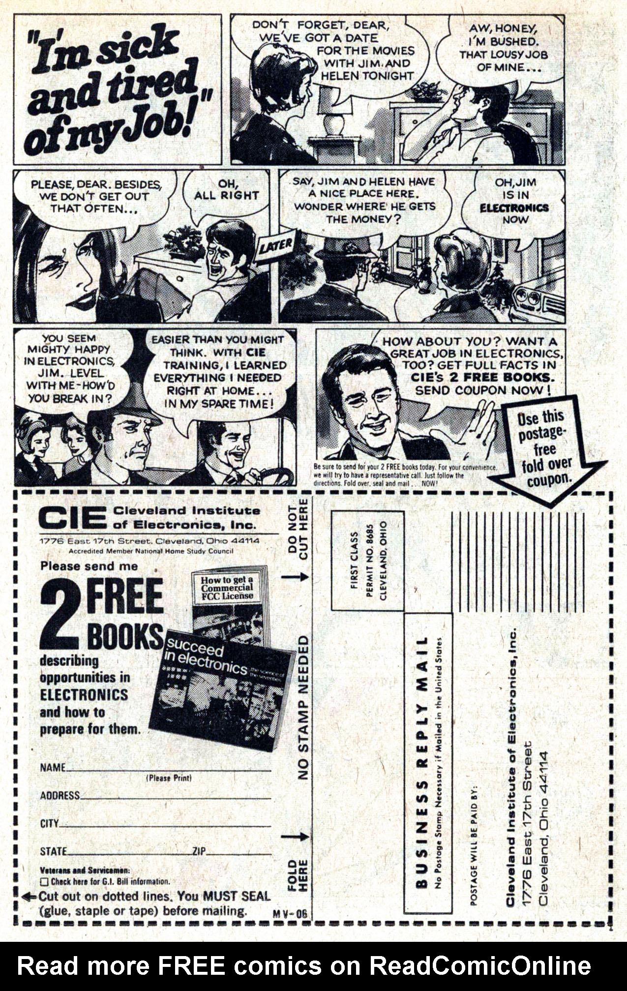 Read online Amazing Adventures (1970) comic -  Issue #29 - 15