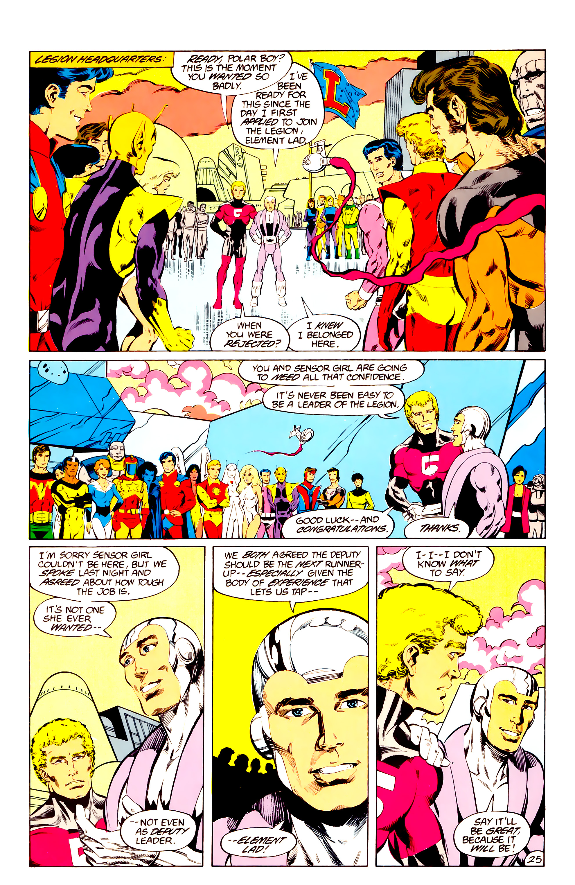 Legion of Super-Heroes (1984) 36 Page 25