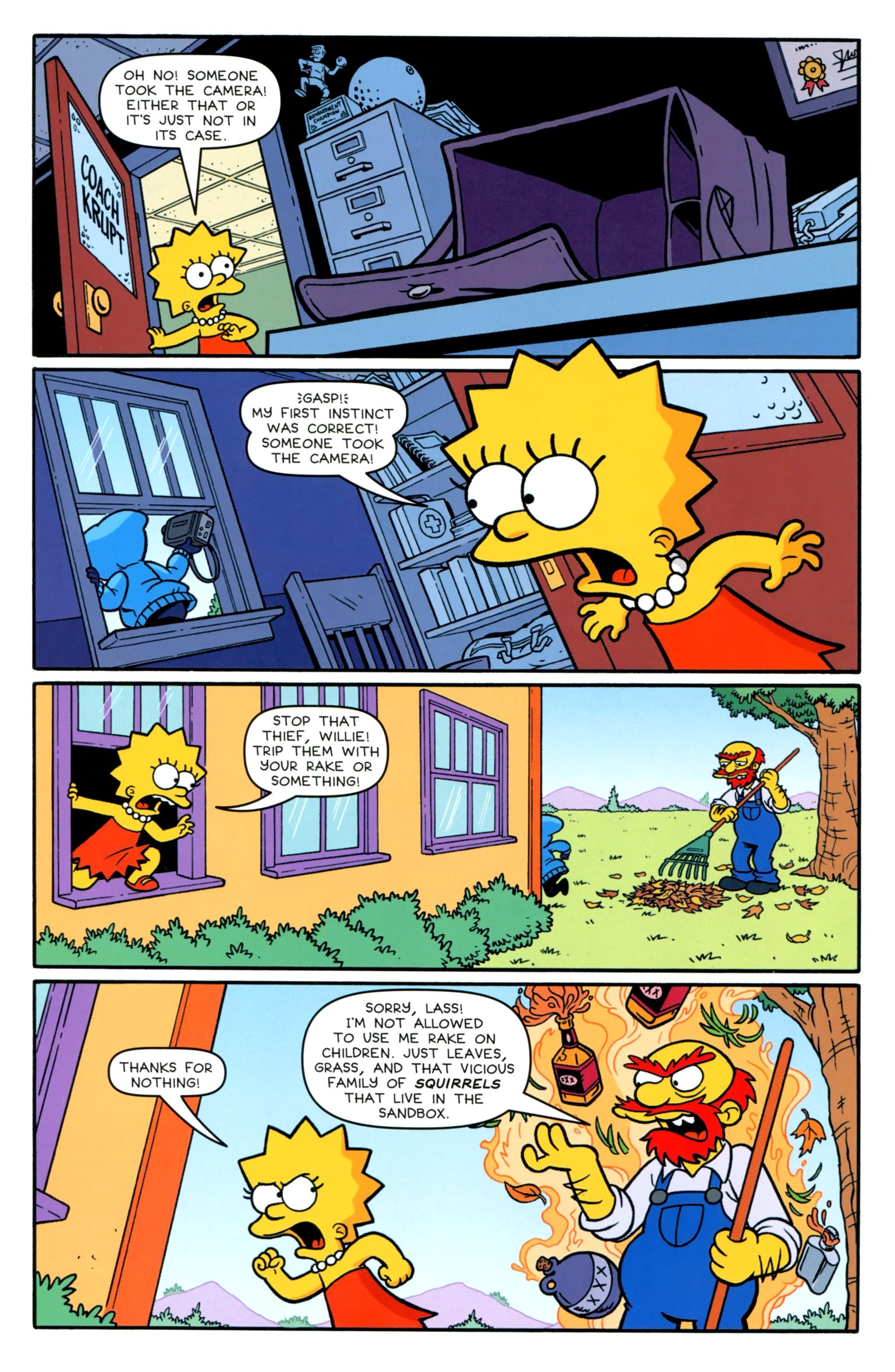 Read online Simpsons Comics comic -  Issue #231 - 22