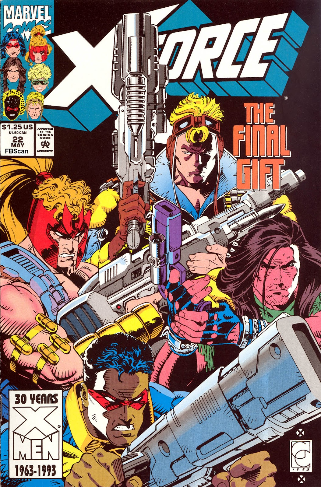 X-Force (1991) Issue #22 #27 - English 1